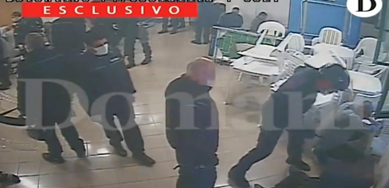 Σάλος στην Ιταλία με σοκαριστικό video: Ασύλληπτη βία σωφρονιστικών υπαλλήλων σε κρατούμενους