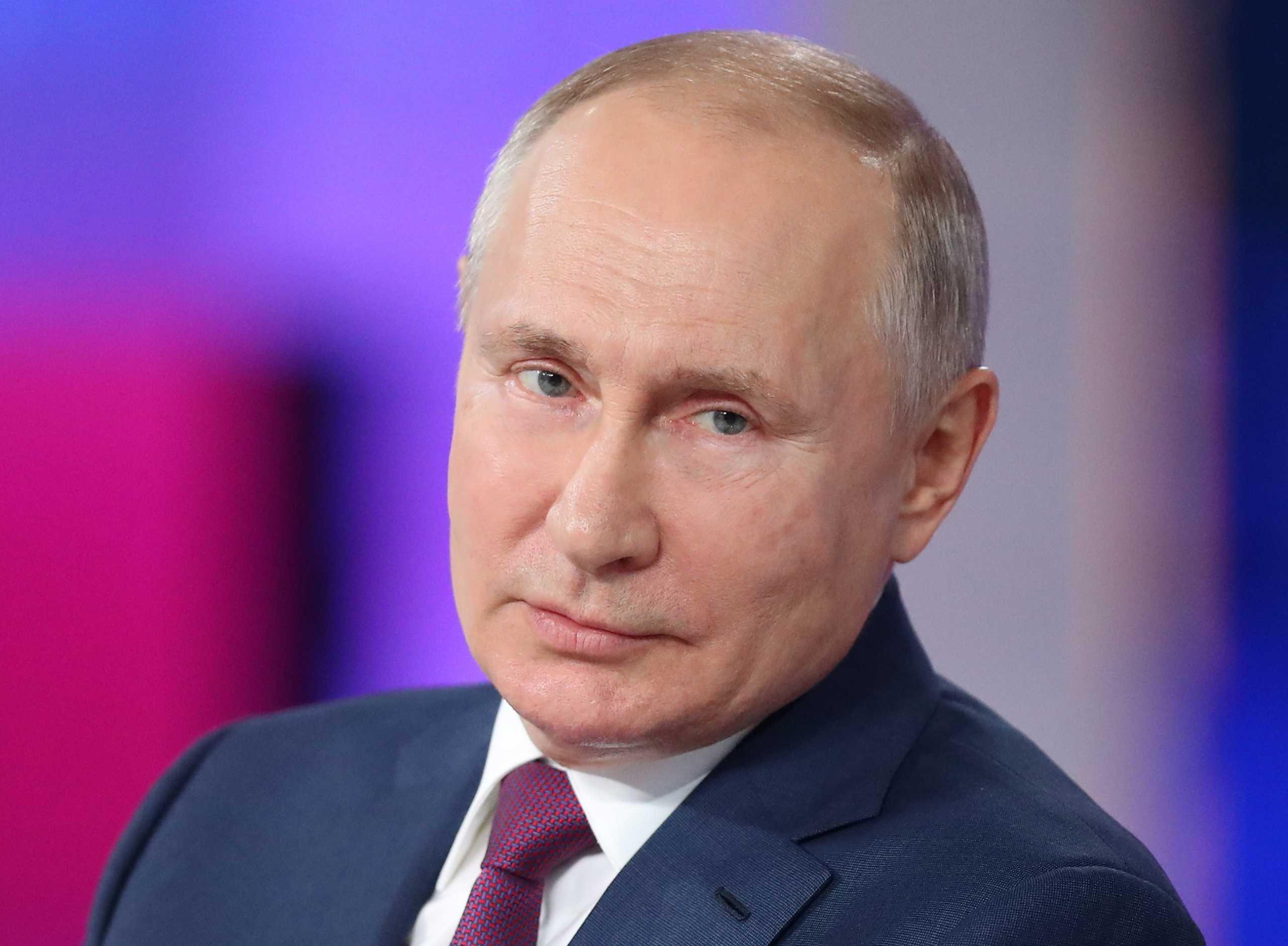 Ρωσία: Ο Βλαντιμίρ Πούτιν έχει πολλά αντισώματα μετά τον εμβολιασμό του με το Sputnik