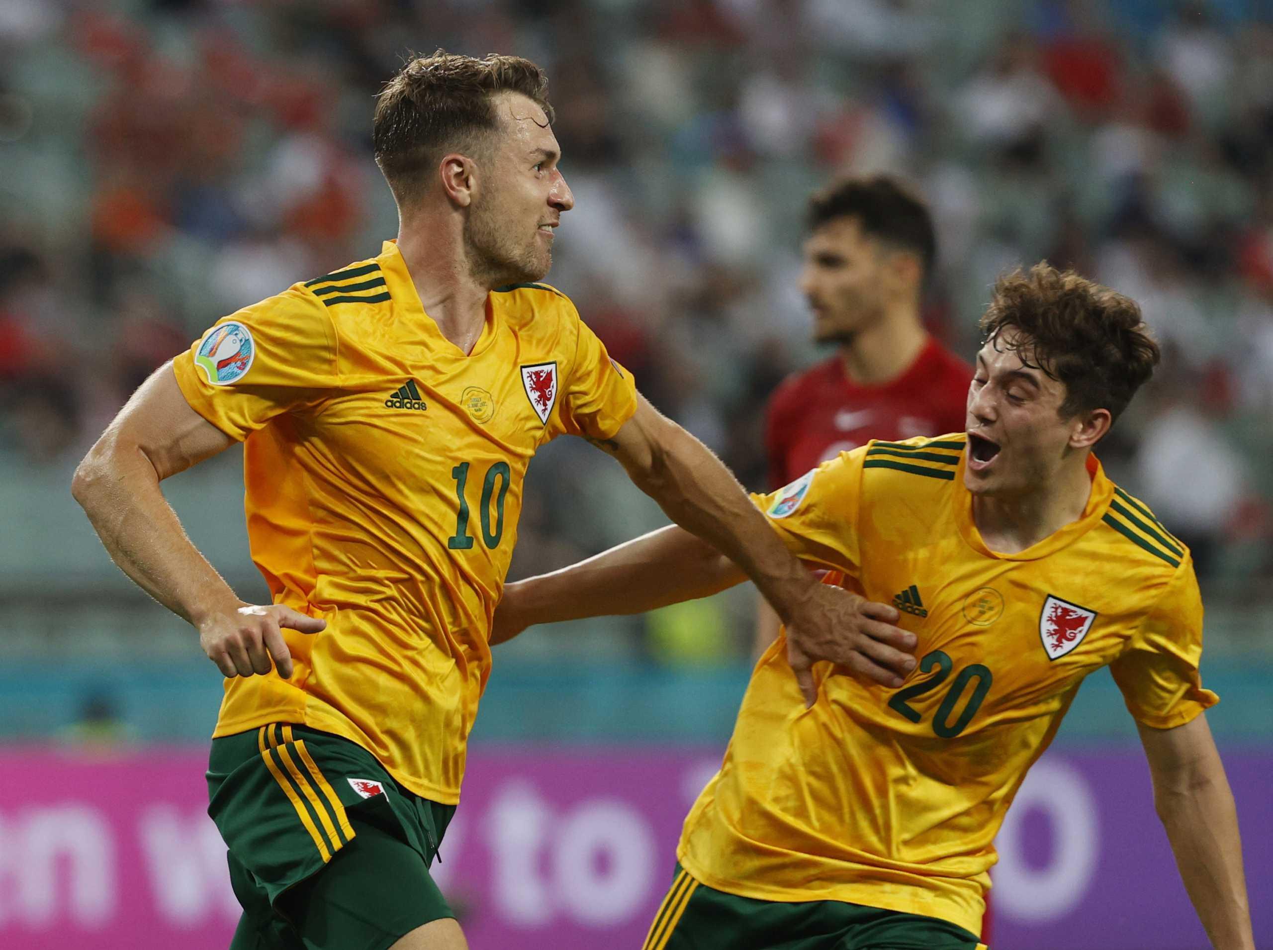 Euro 2020: Με γκολάρα Ράμσεϊ, οι Ουαλοί στέλνουν στο καναβάτσο τους Τούρκους