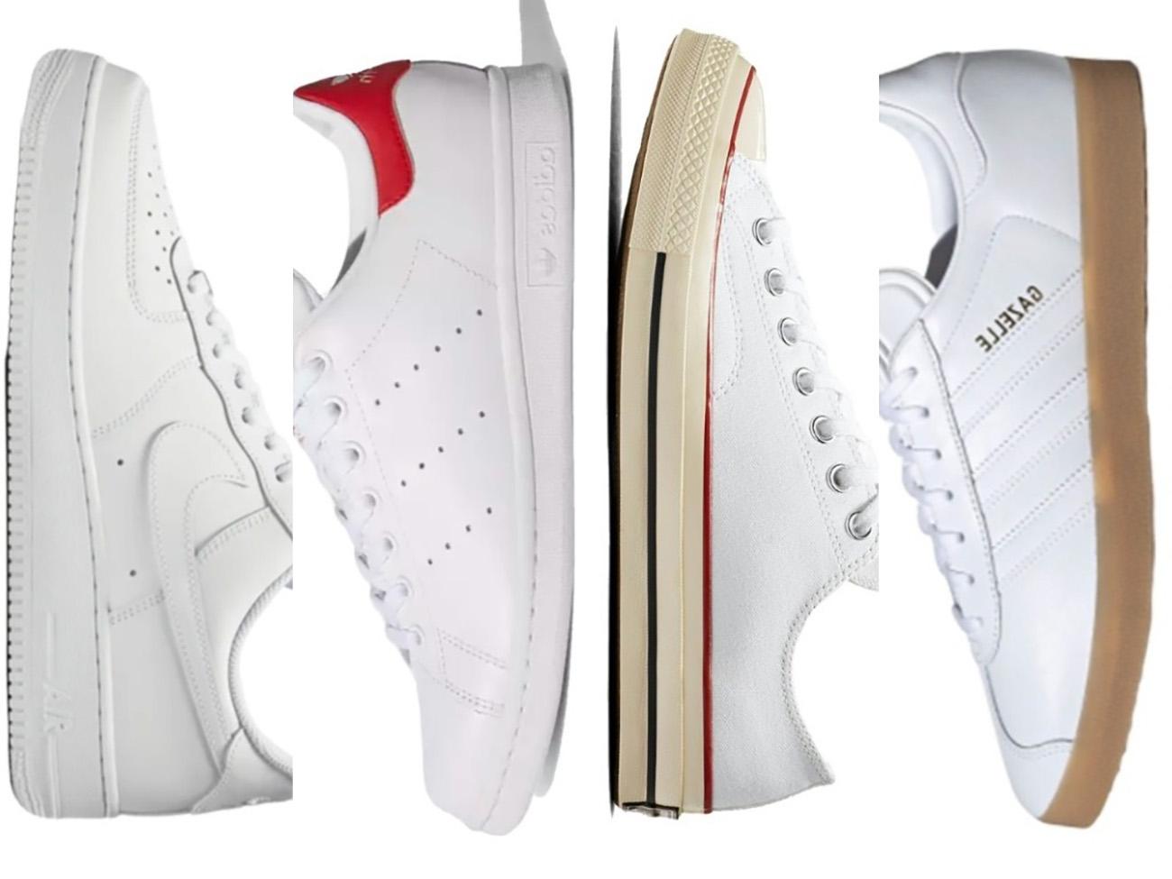 9 κλασικά λευκά sneakers που μπορείς να φοράς όλο το καλοκαίρι