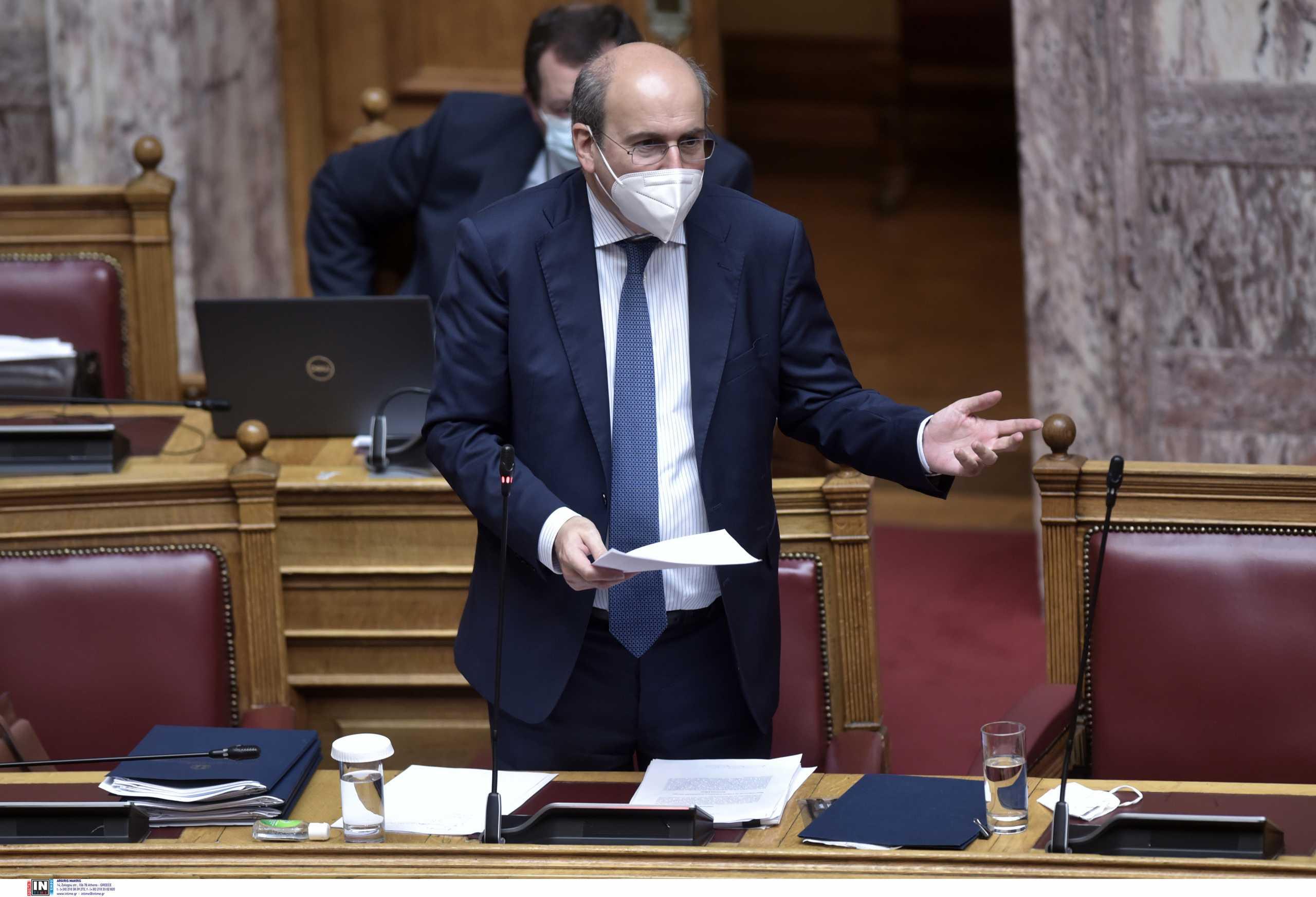 Χατζηδάκης: Περιμένουμε εξηγήσεις από τον ΣΥΡΙΖΑ γι΄ αυτό το ρεσιτάλ πολιτικής υποκρισίας