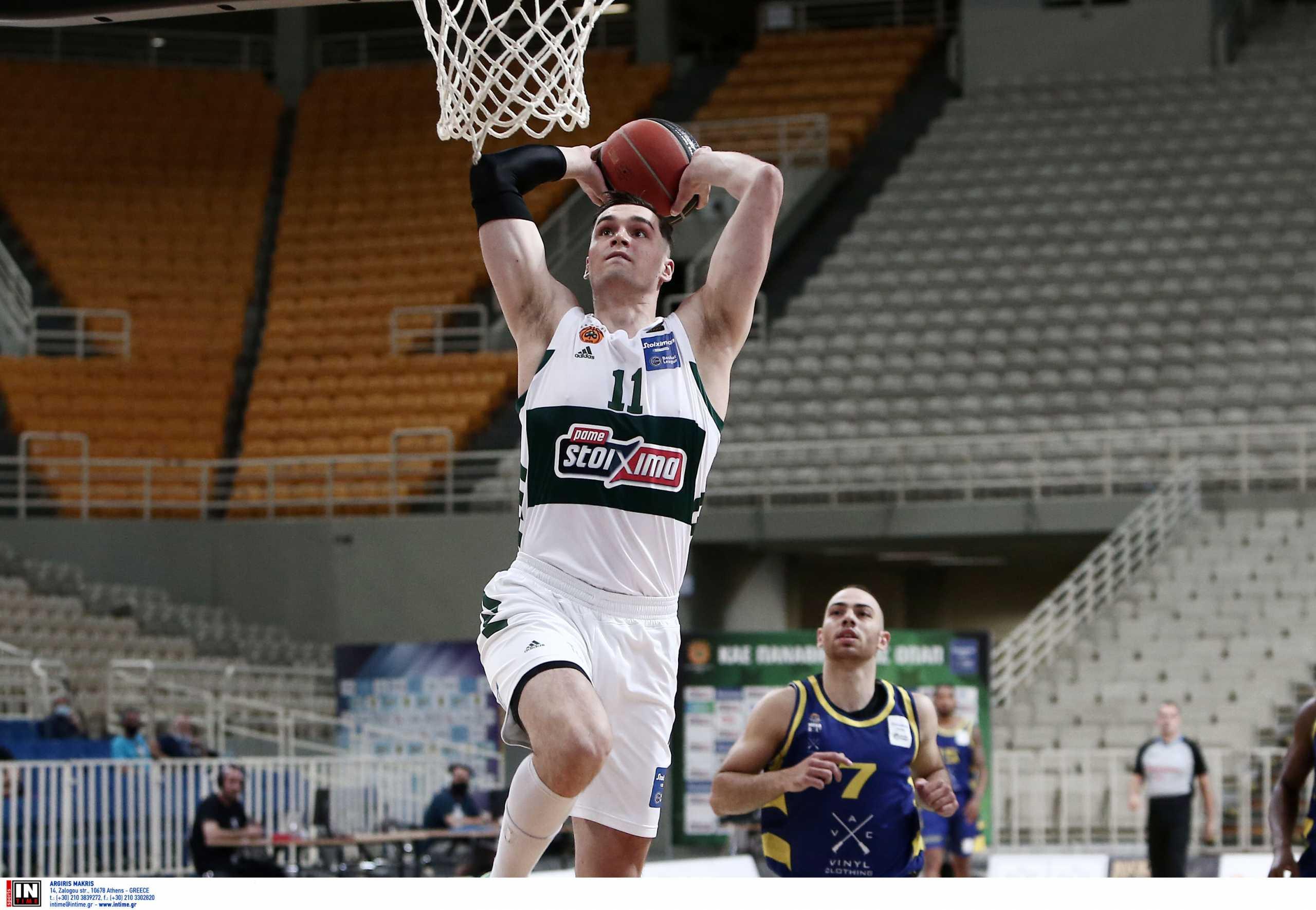 Παναθηναϊκός – Λαύριο: Πράσινος «τυφώνας» με 100άρα στον πρώτο τελικό της Basket League