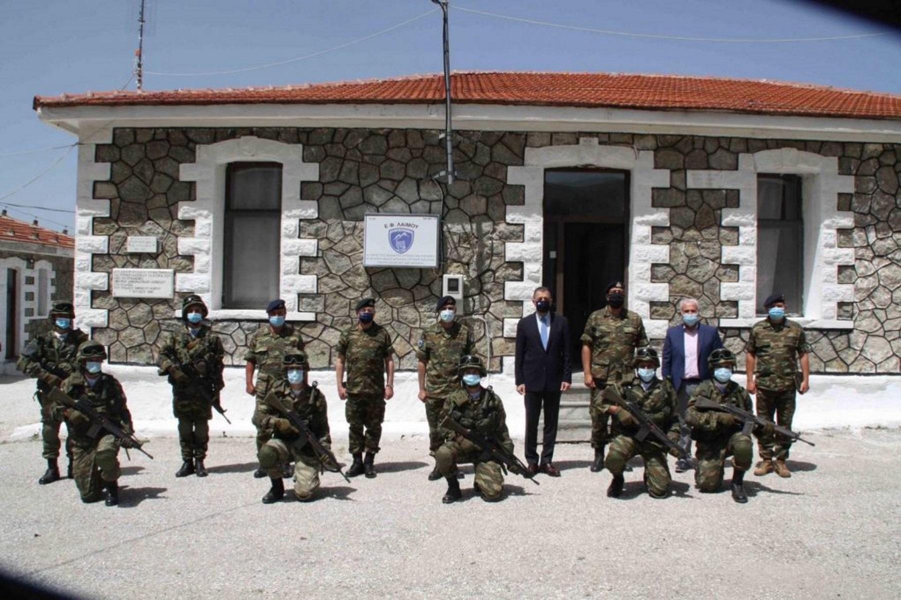 Αλκιβιάδης Στεφανής: Περιοδεία σε Φυλάκια της Περιοχής Ευθύνης Γ' Σώματος Στρατού (pics)