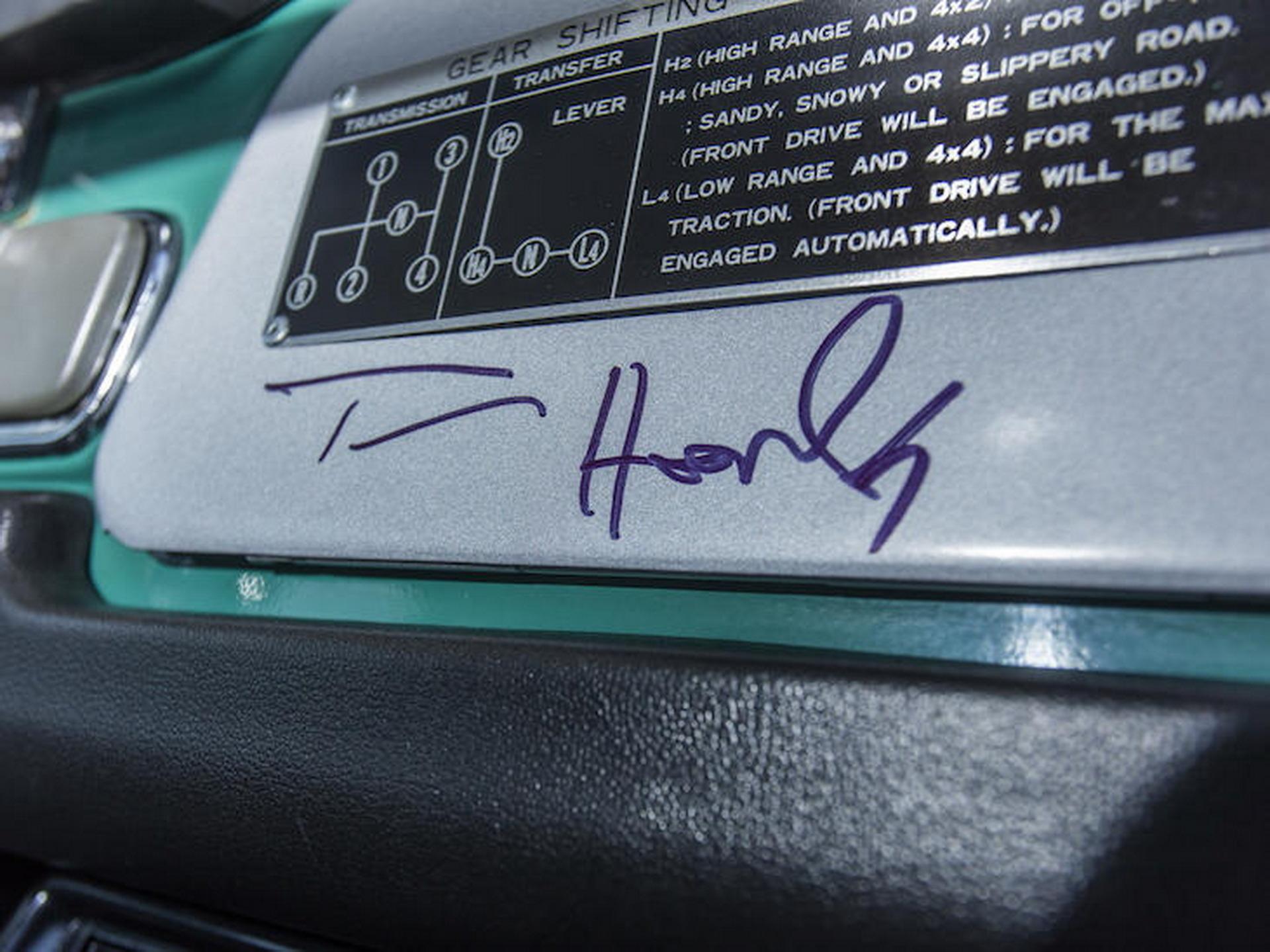 Διάσημος ηθοποιός πουλάει ένα ξεχωριστό Toyota Land Cruiser του 1980 (pics)