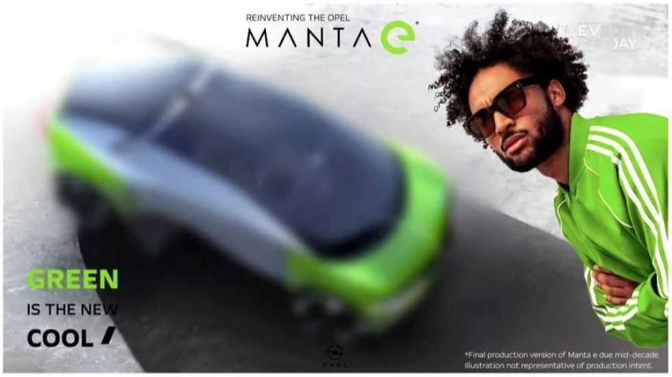 H Opel βάζει ημερομηνία λήξης στους κινητήρες εσωτερικής καύσης και μας συστήνει το νέο Manta (pics)