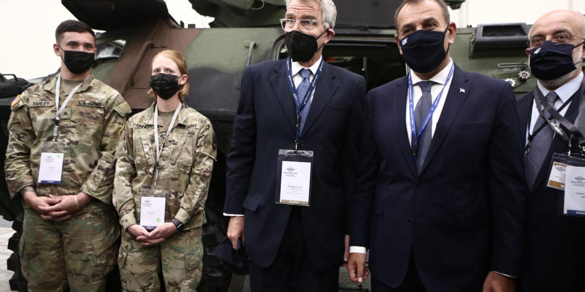 DEFEA 2021 – Πάιατ: Οι αμυντικοί δεσμοί Ελλάδας – ΗΠΑ είναι από τους πιο στενούς [pics]
