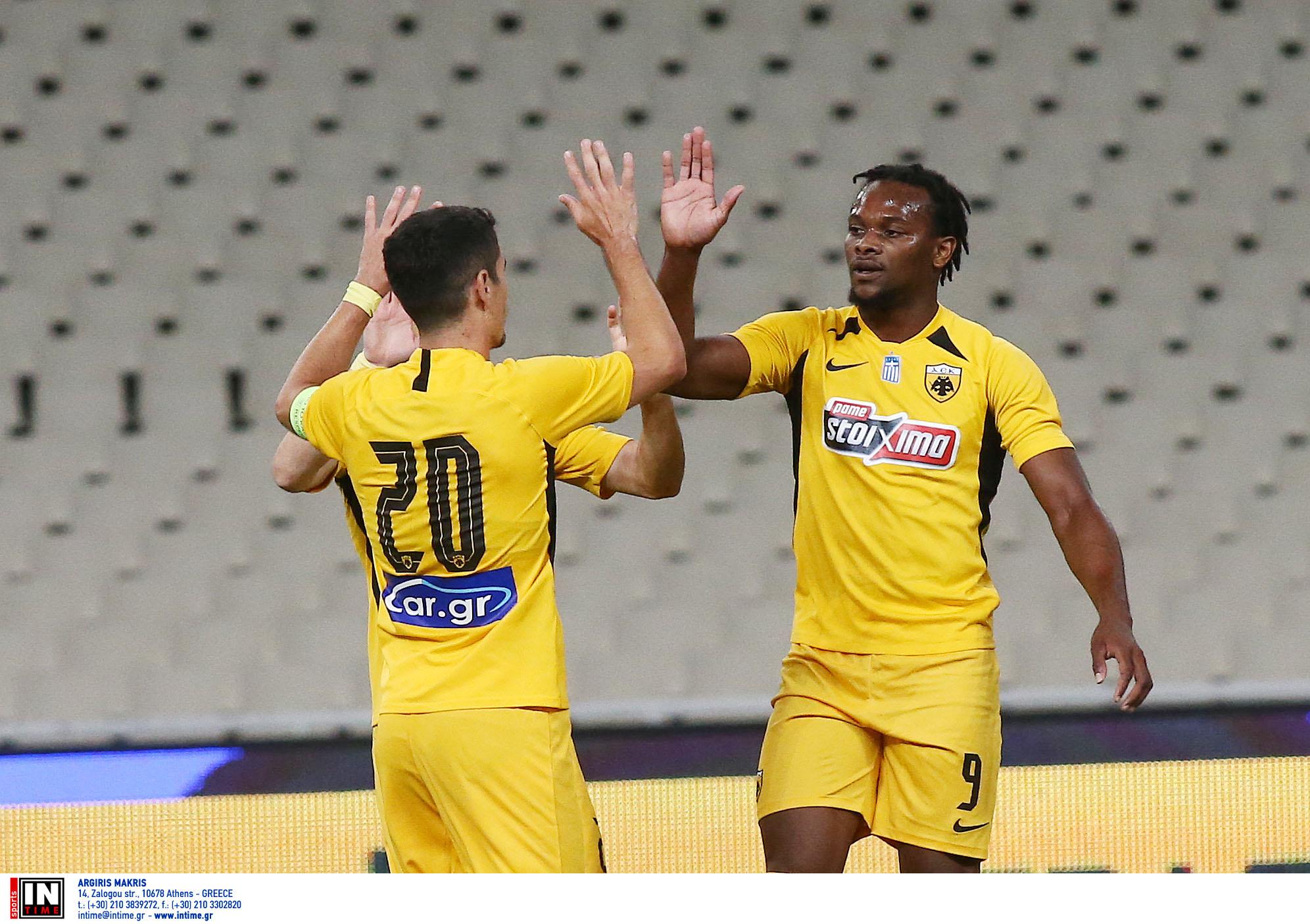 ΑΕΚ – Απόλλων Λεμεσού 3-0: Άνετη με Λιβάι Γκαρσία πριν τους αγώνες στο Conference League