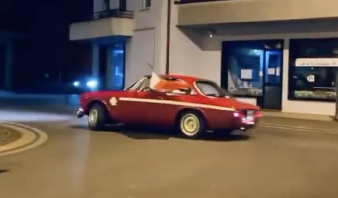 Euro 2020: Ο πανηγυρισμός του Ιταλού με την Alfa Romeo GT Junior που έγινε viral! (video)