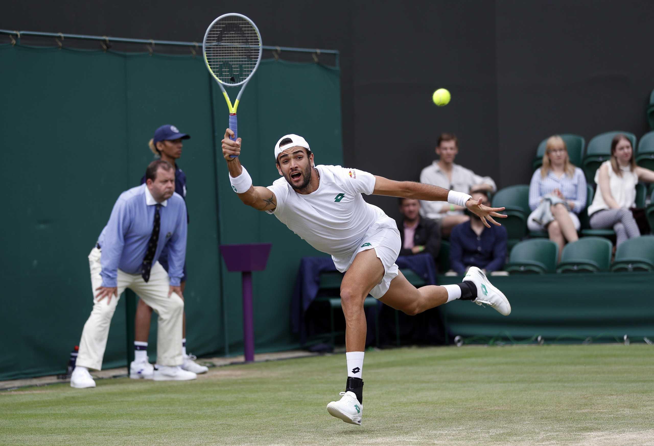 Ολυμπιακοί Αγώνες: Αποσύρθηκε και ο Μπερετίνι από το τουρνουά τένις