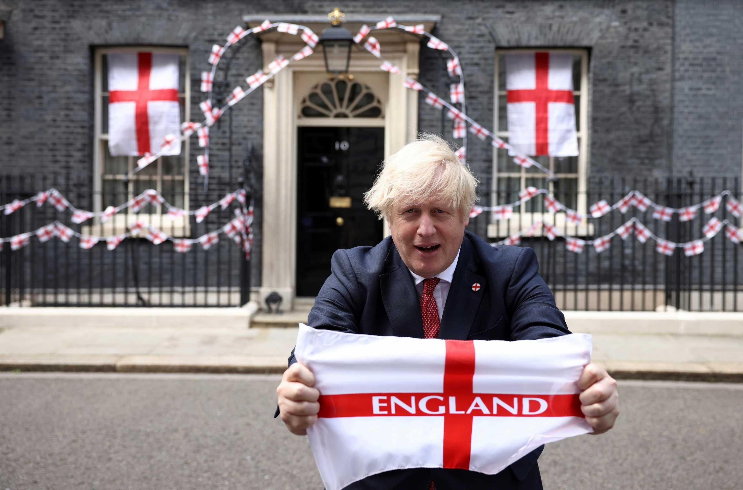 """Euro 2020: Η ευχή του Μπόρις Τζόνσον στην εθνική Αγγλίας – «Φέρτε το """"σπίτι""""»"""