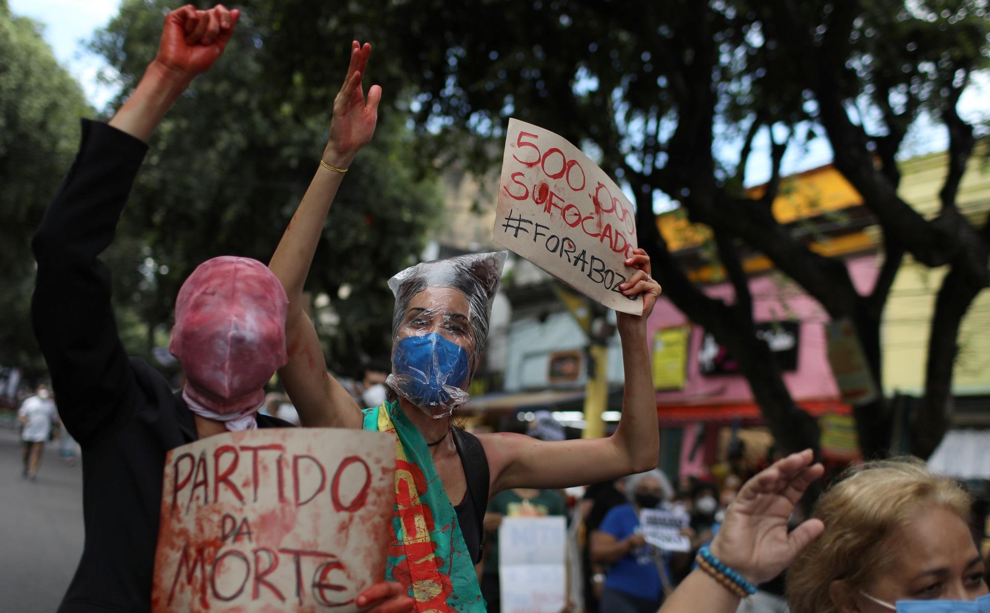 BRAZIL PROTESTS REUTERS 05 07 2021