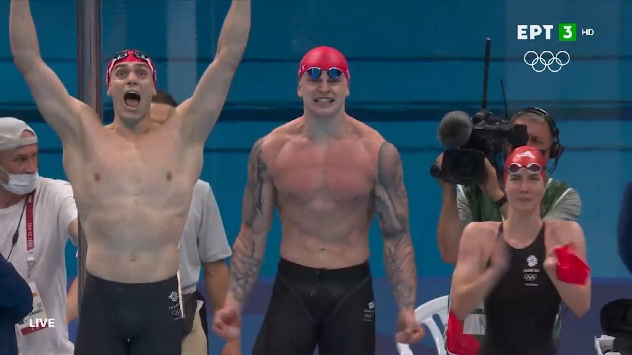 Ολυμπιακοί Αγώνες: «Χρυσή» με παγκόσμιο ρεκόρ η Μεγάλη Βρετανία στα 4×100 μικτή ομαδική