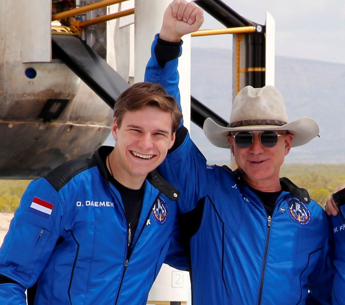 Ο 18χρονος που πήγε στο διάστημα με τον Τζεφ Μπέζος δεν έχει παραγγείλει ποτέ από την Amazon