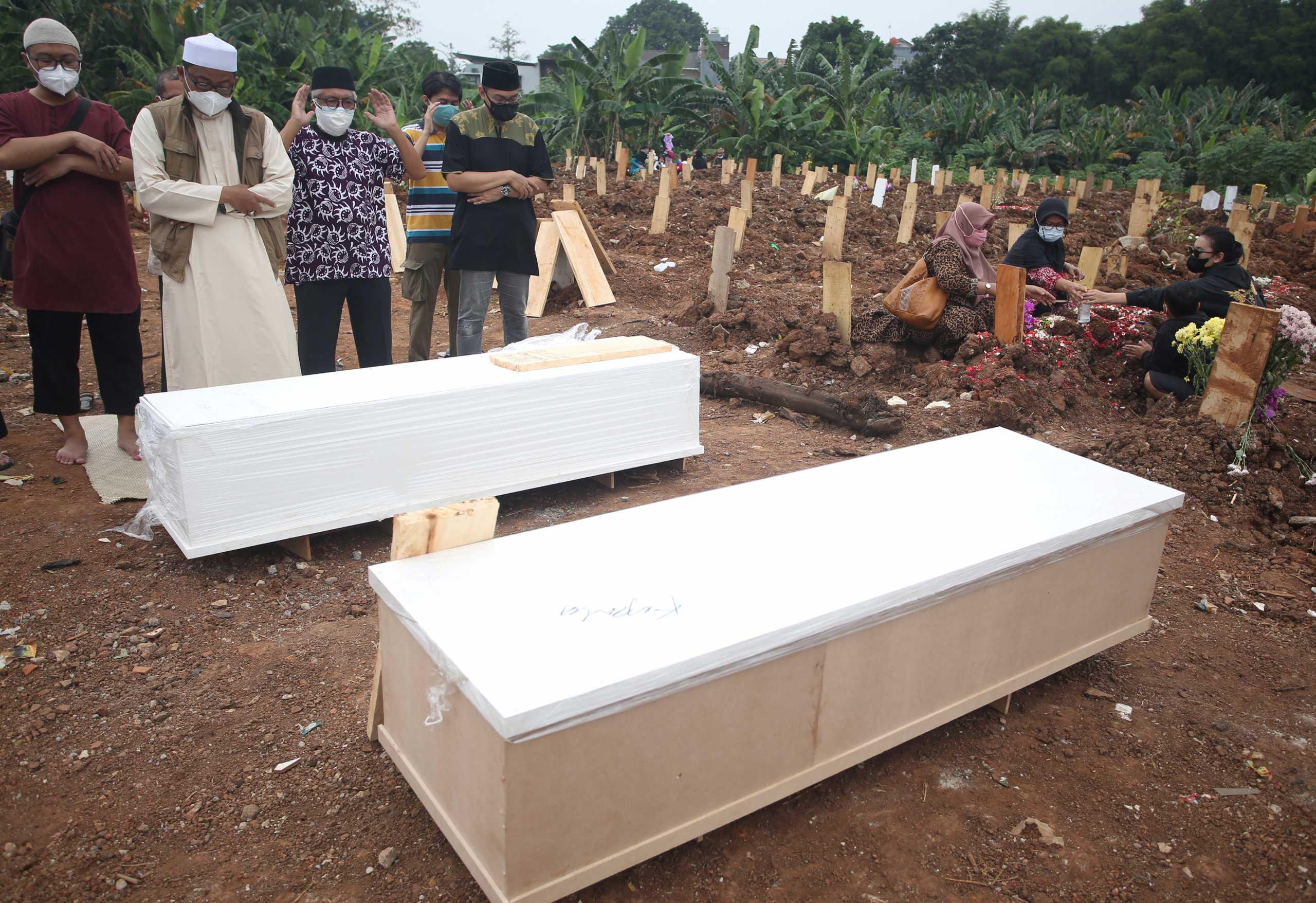Κορονοϊός: Ρεκόρ στην Ινδονησία με 47.899 νέα κρούσματα σε μία μέρα