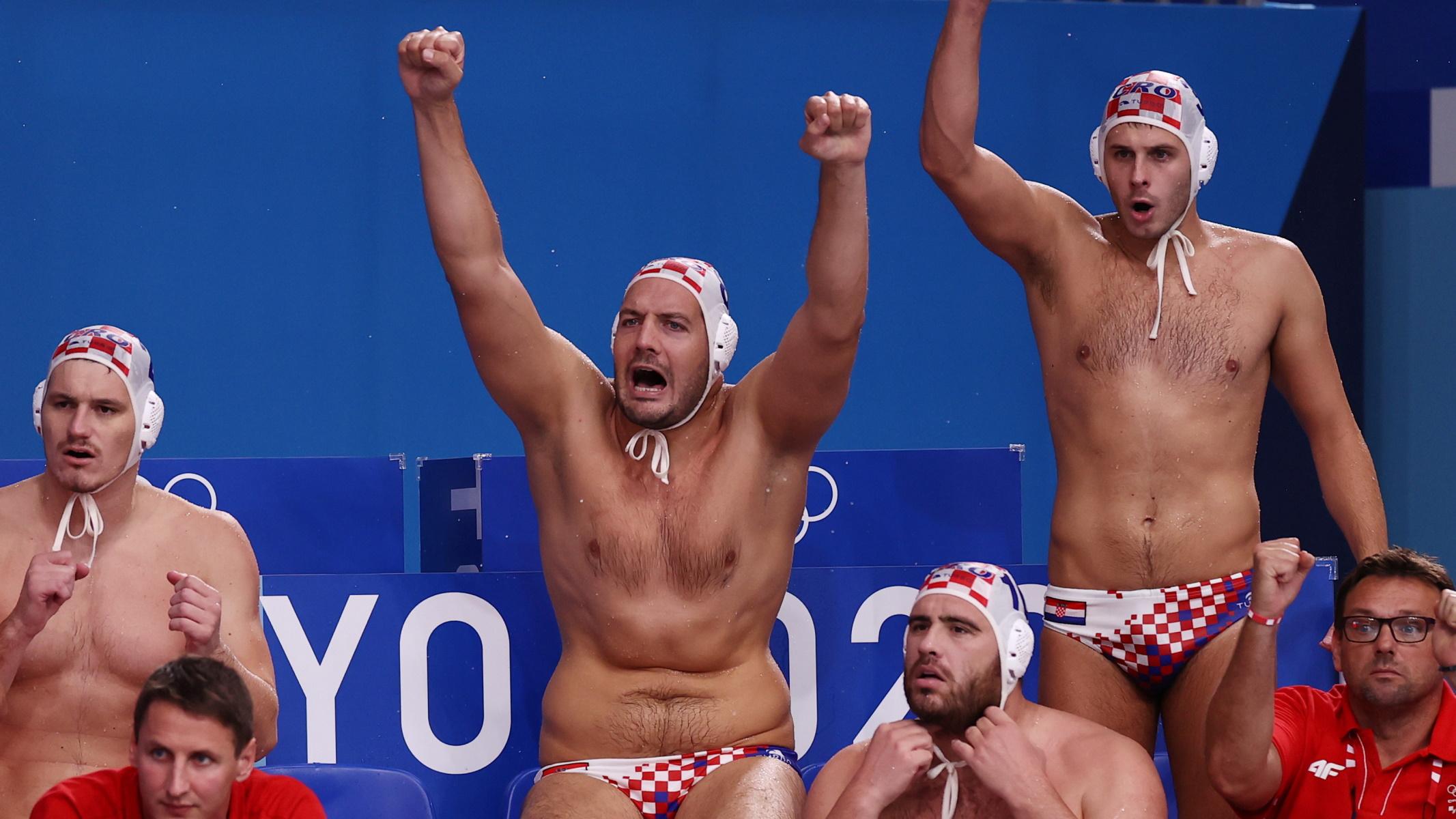 Κροατία – Σερβία 14-12: Η «χρβάτσκα» κέρδισε στο πόλο αντρών στους Ολυμπιακούς Αγώνες
