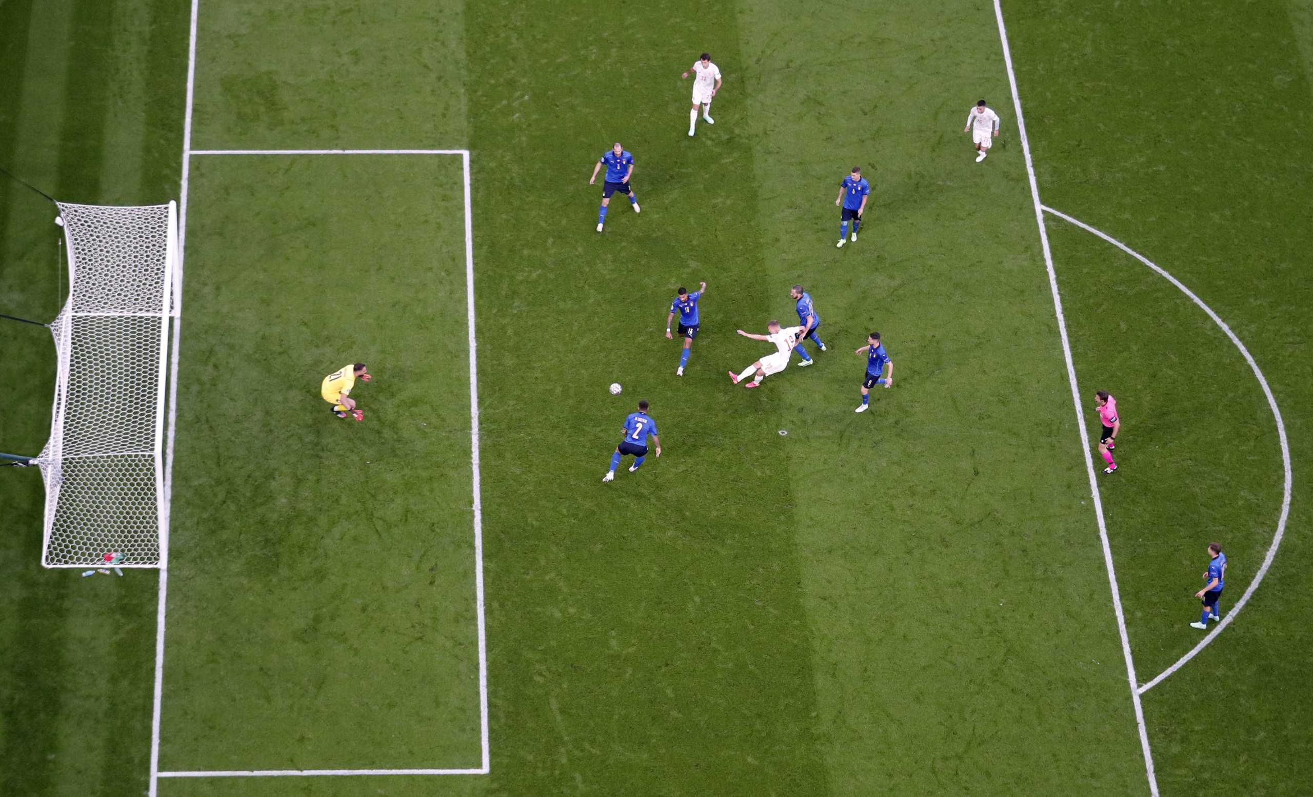 Euro 2020, Ιταλία – Ισπανία: Η μεγάλη επέμβαση του Ντοναρούμα