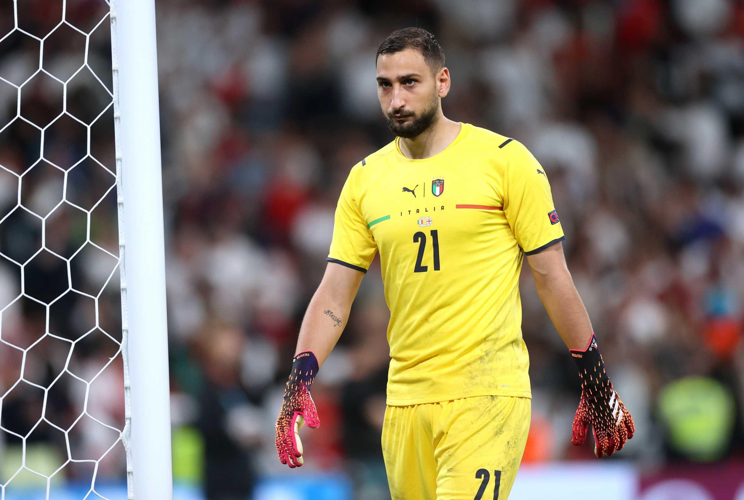 Ντοναρούμα: Γι' αυτό έμεινε ατάραχος μετά το τελευταίο πέναλτι στον τελικό του Euro 2020