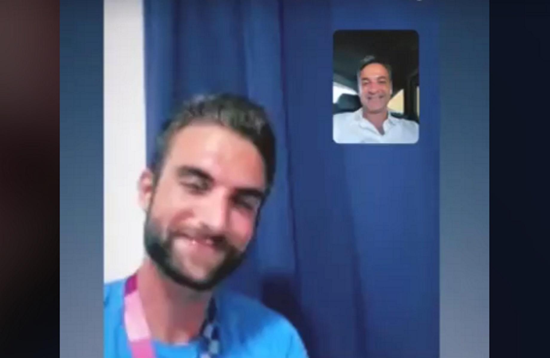 Ολυμπιακοί Αγώνες: Ο Μητσοτάκης κάλεσε με βιντεοκλήση τον «χρυσό» Ντούσκο