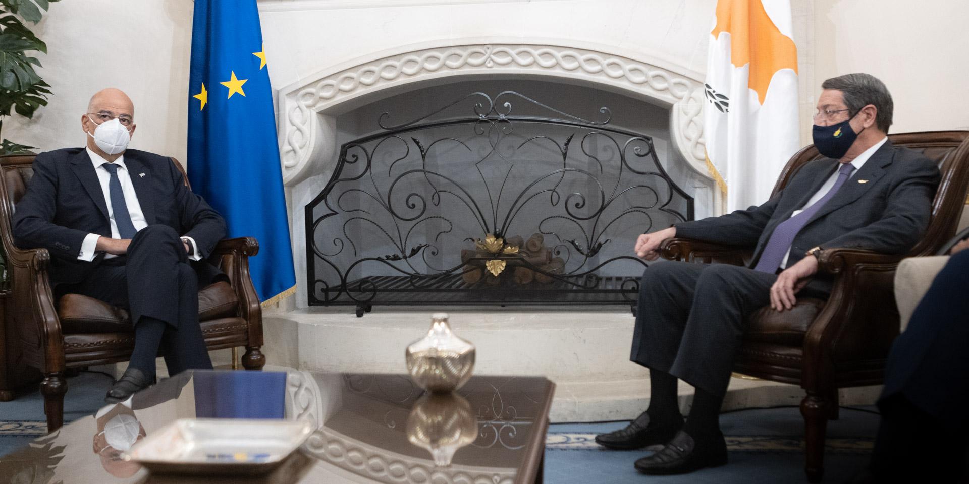 Νίκος Δένδιας: «Δεν θα ανεχτούμε την τουρκική παραβατικότητα και την επιβολή τετελεσμένων»