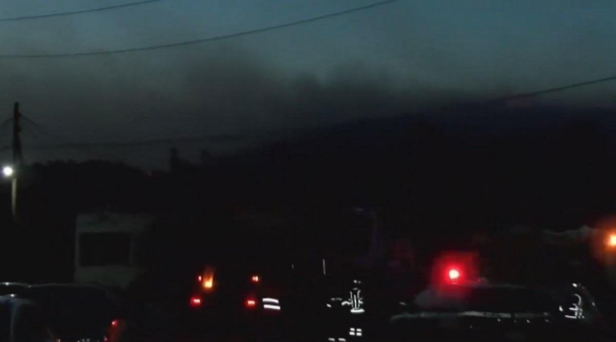 Δύσκολη νύχτα στο Σουφλί με ολονύχτια μάχη με τις φλόγες