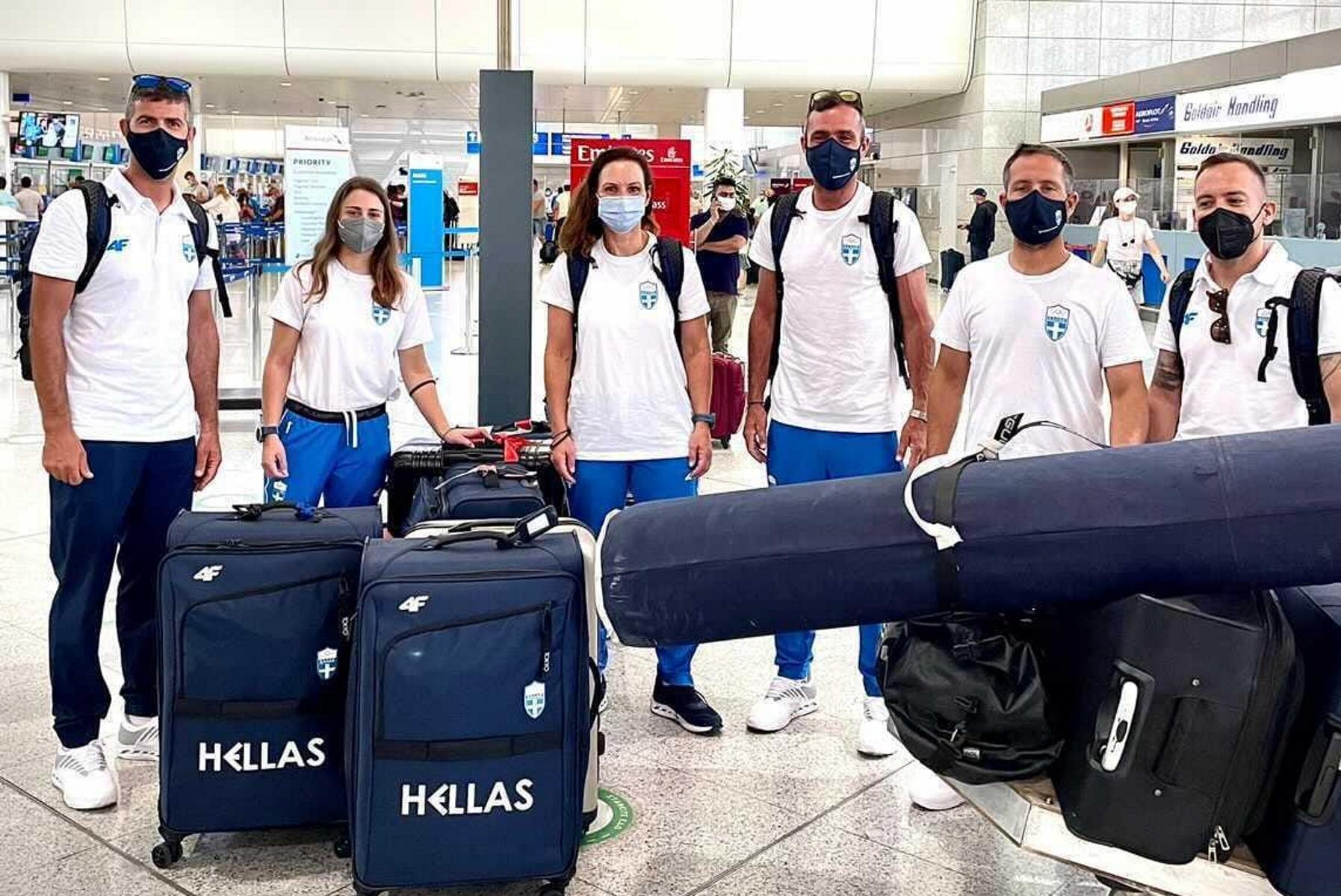 Ολυμπιακοί Αγώνες: Αναχώρησαν τα ελληνικά πληρώματα για Τόκιο