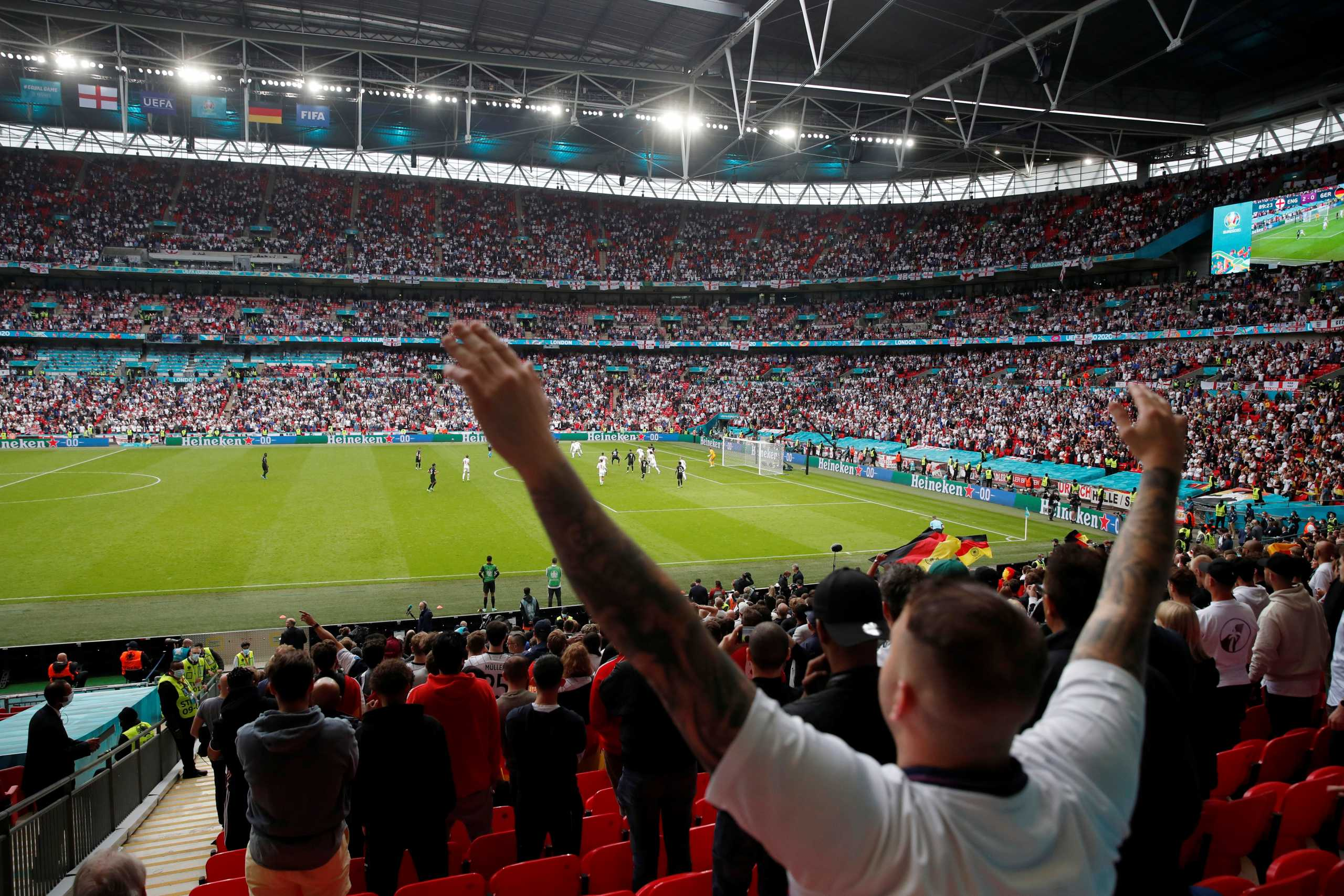 Euro 2020: «Κλειδώνει» η χωρητικότητα του Wembley σε ημιτελικούς και τελικό