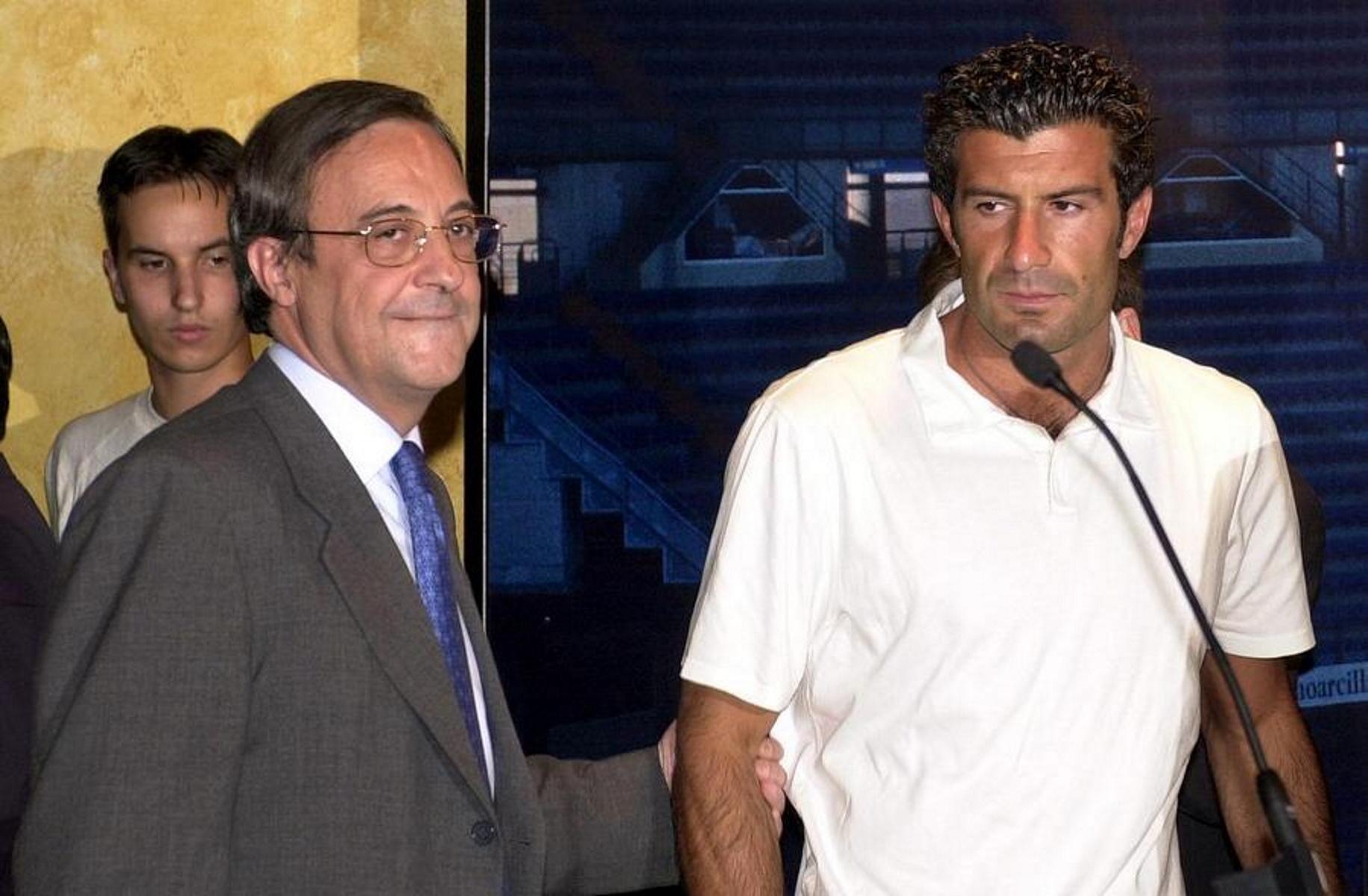 Φλορεντίνο Πέρεθ κατά Λουίς Φίγκο: «Ήταν π@@@ας γιος, έκανε μπ@@@λο την Ρεάλ»