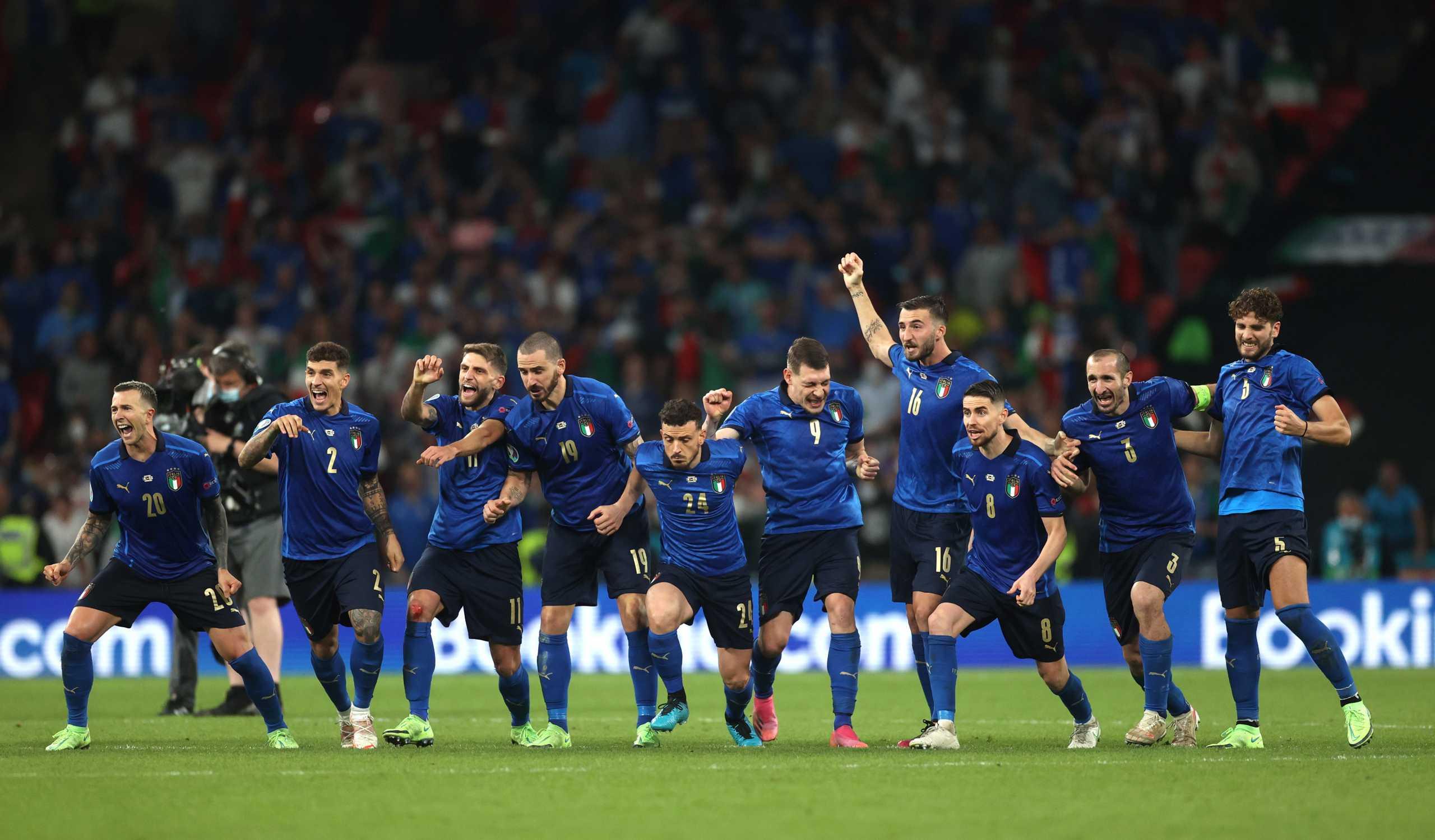Euro 2020, Ιταλία – Αγγλία: Οι Ιταλοί «χάλασαν» το αγγλικό πάρτι και αναδείχθηκαν πρωταθλητές Ευρώπης