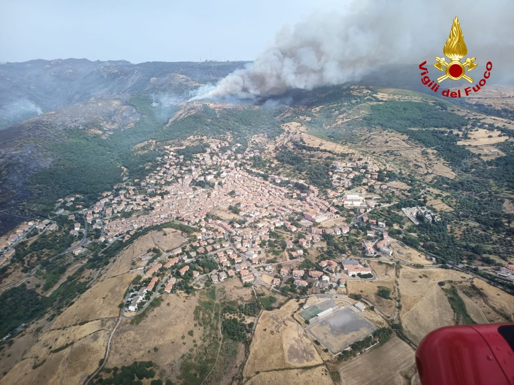 Ιταλία: Πυρκαγιές έκαψαν πάνω από 200.000 στρέμματα στη Σαρδηνία