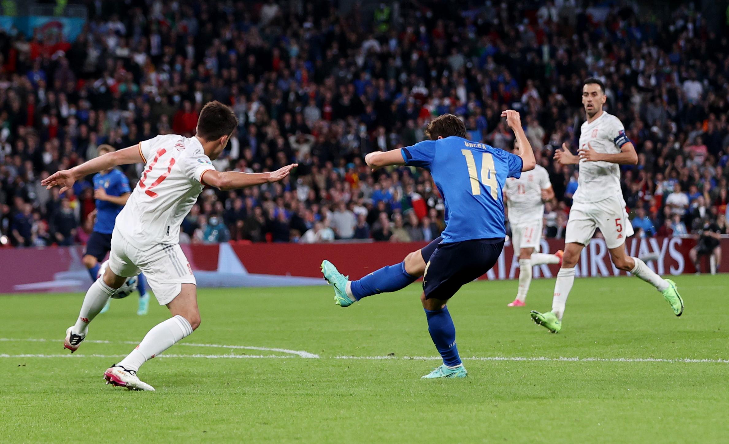 Euro 2020, Ιταλία – Ισπανία: Πλασεδάρα ο Κιέζα και γκολ στο Wembley