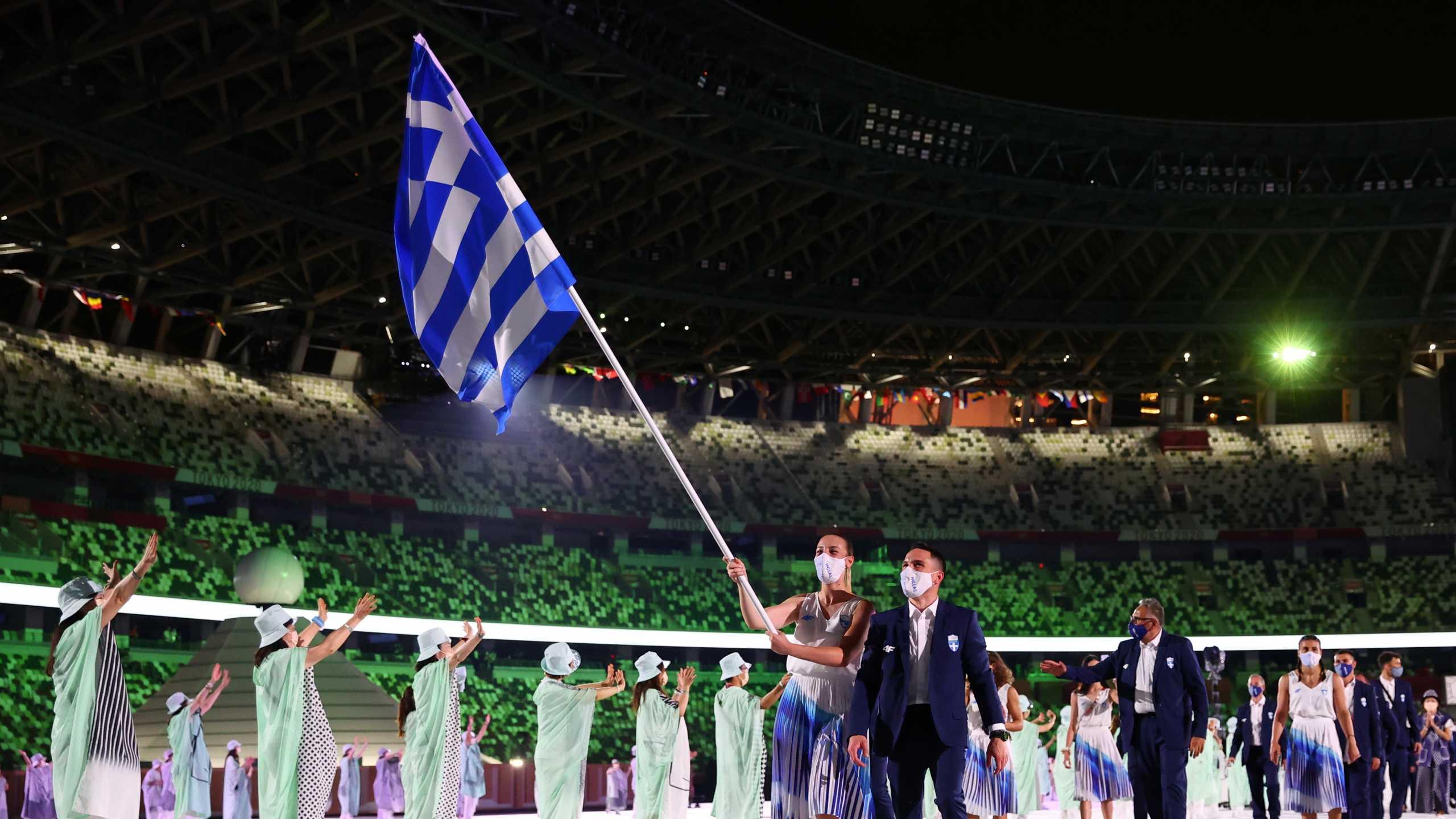 Ολυμπιακοί Αγώνες: Συγκινημένος ο Πετρούνιας – «Ελπίζω να φανώ αντάξιος αυτής της σημαίας»
