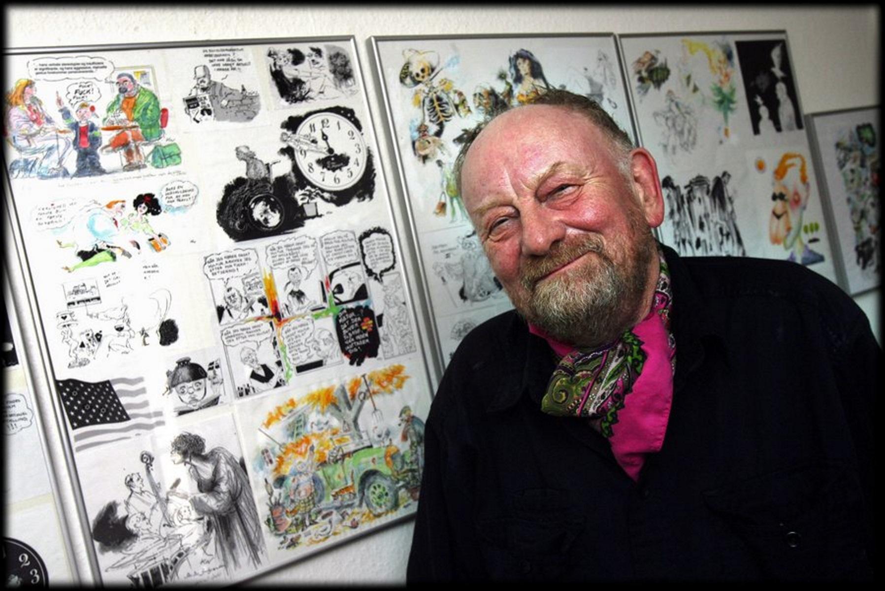 Πέθανε ο Δανός σκιτσογράφος Κουρτ Βέστεργκααρντ που είχε σχεδιάσει τα σκίτσα του Μωάμεθ