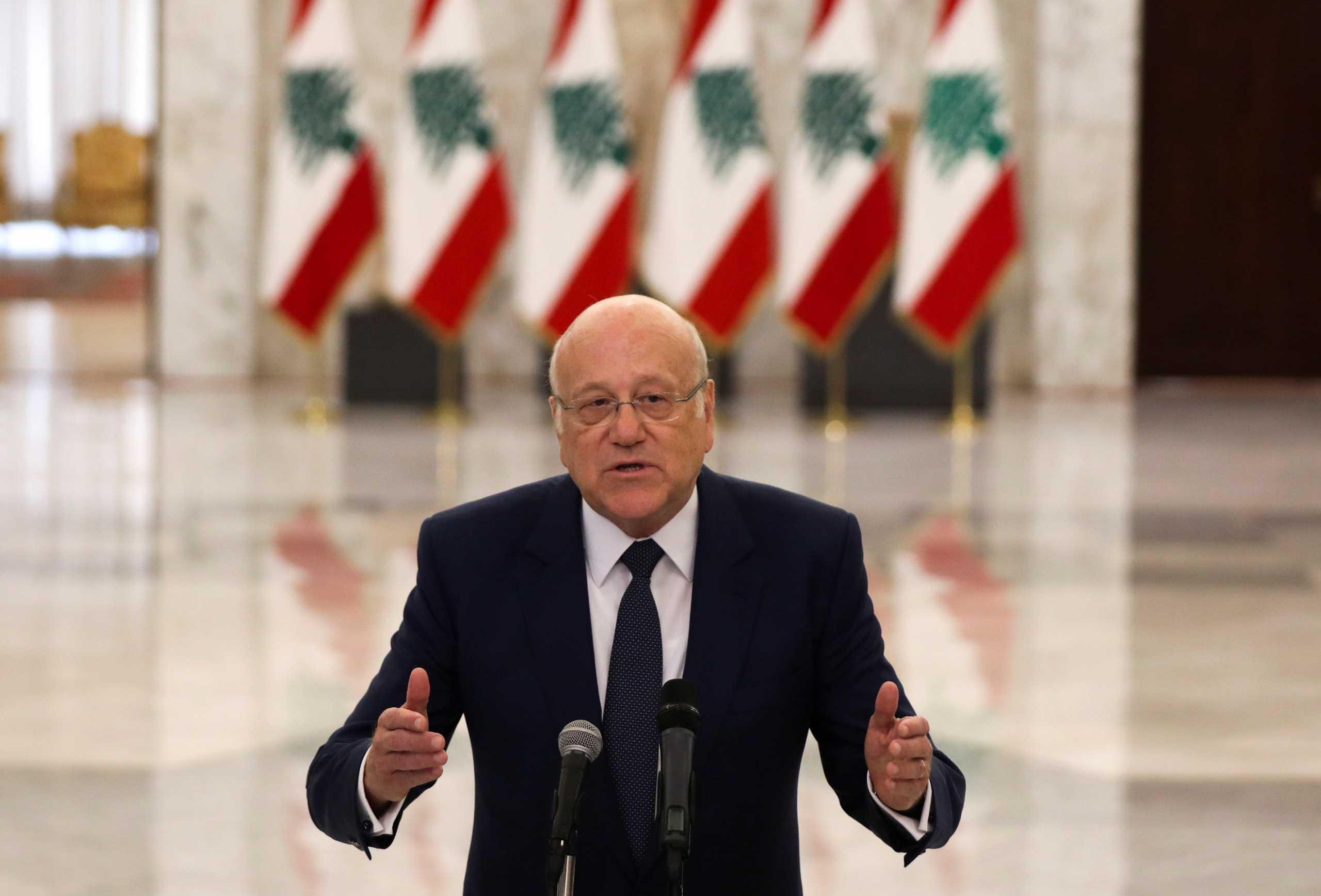 Λίβανος: Ο επιχειρηματίας Νατζίμπ Μικάτι έλαβε εντολή σχηματισμού κυβέρνησης