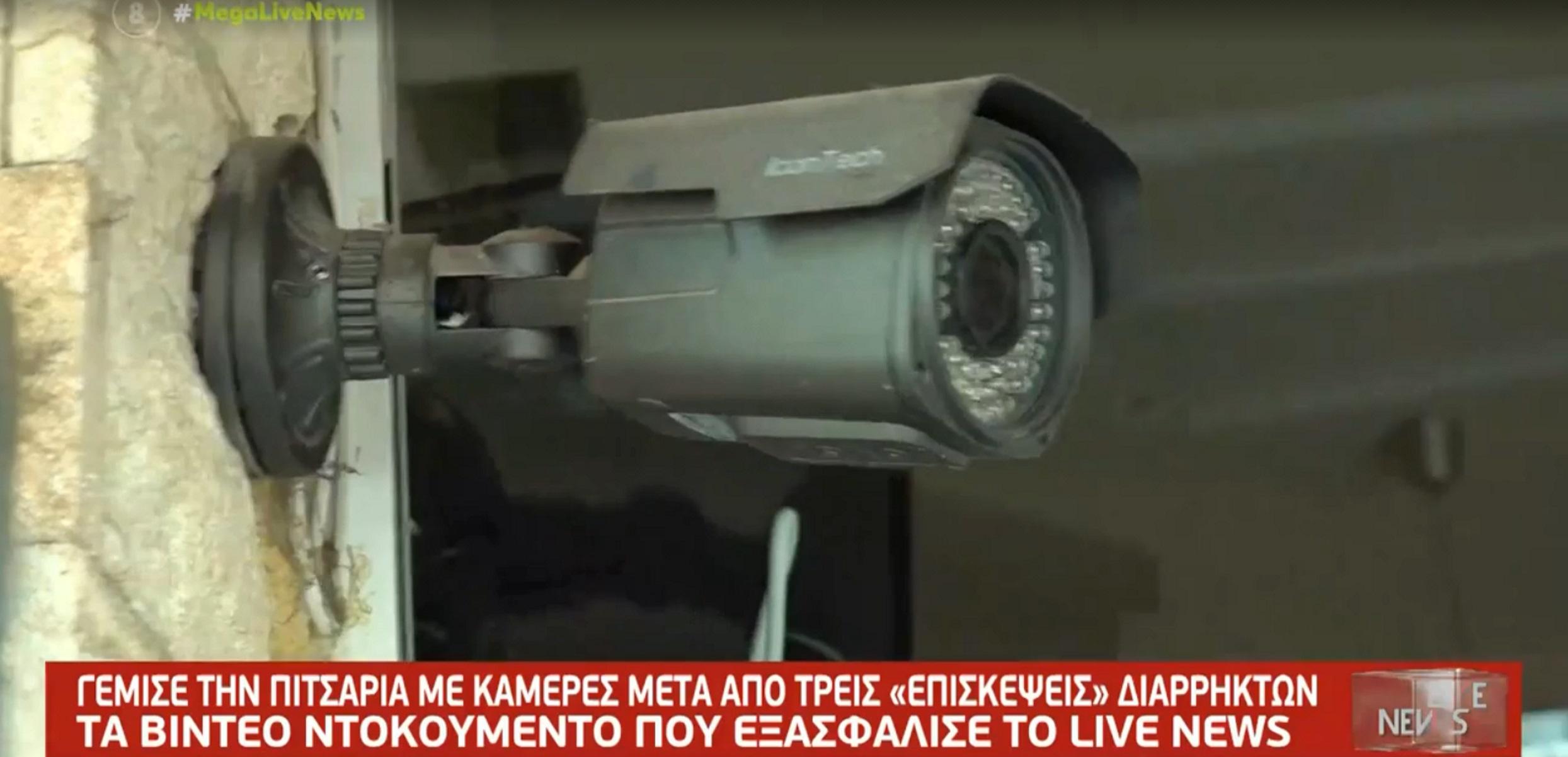 Θεσσαλονίκη: Βίντεο ντοκουμέντο από ληστεία πιτσαρίας – Ο δράστης πιάστηκε στη φάκα