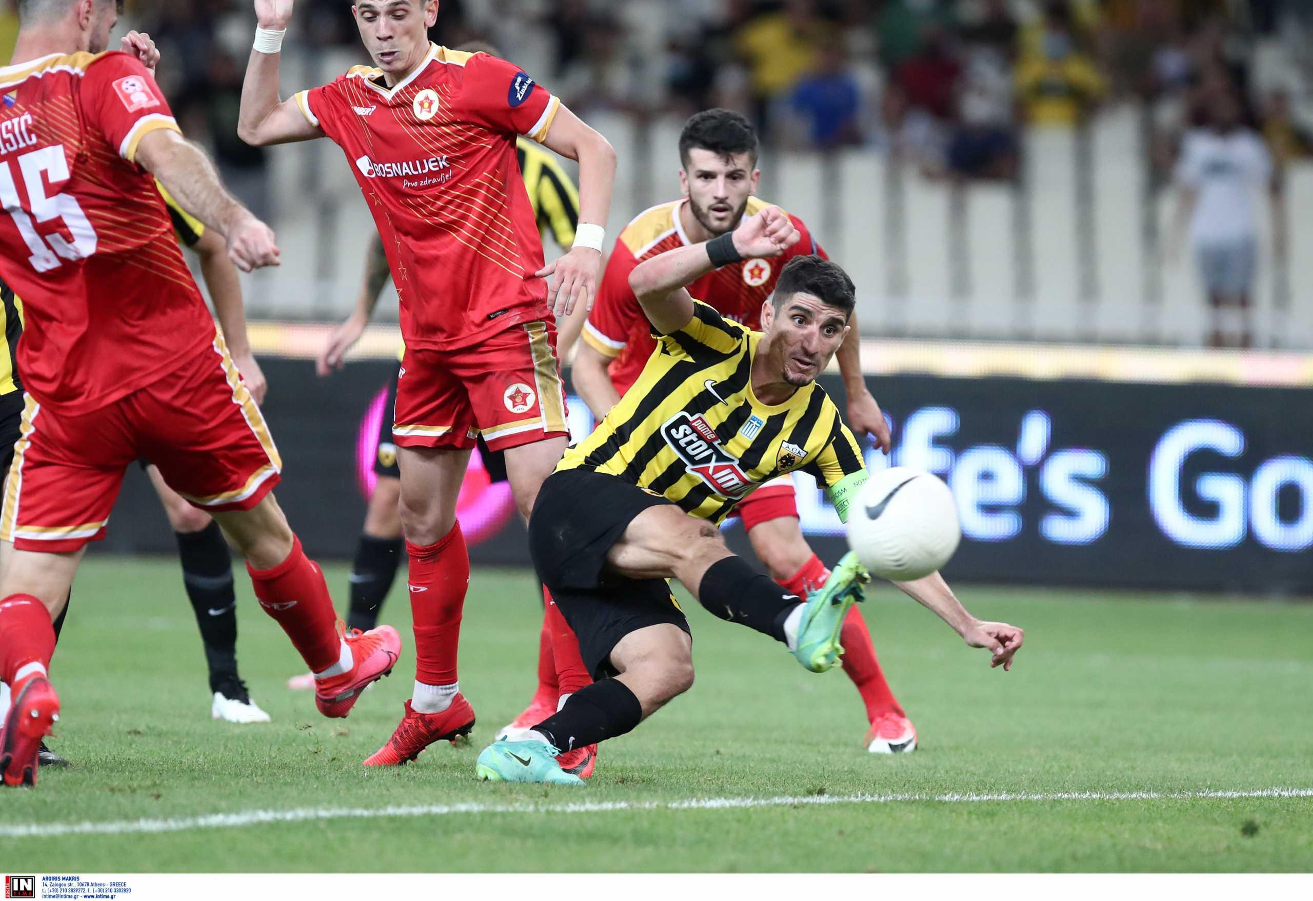 ΑΕΚ – Βελέζ: Το «χρυσό» γκολ του Μάνταλου έστειλε το ματς στην παράταση
