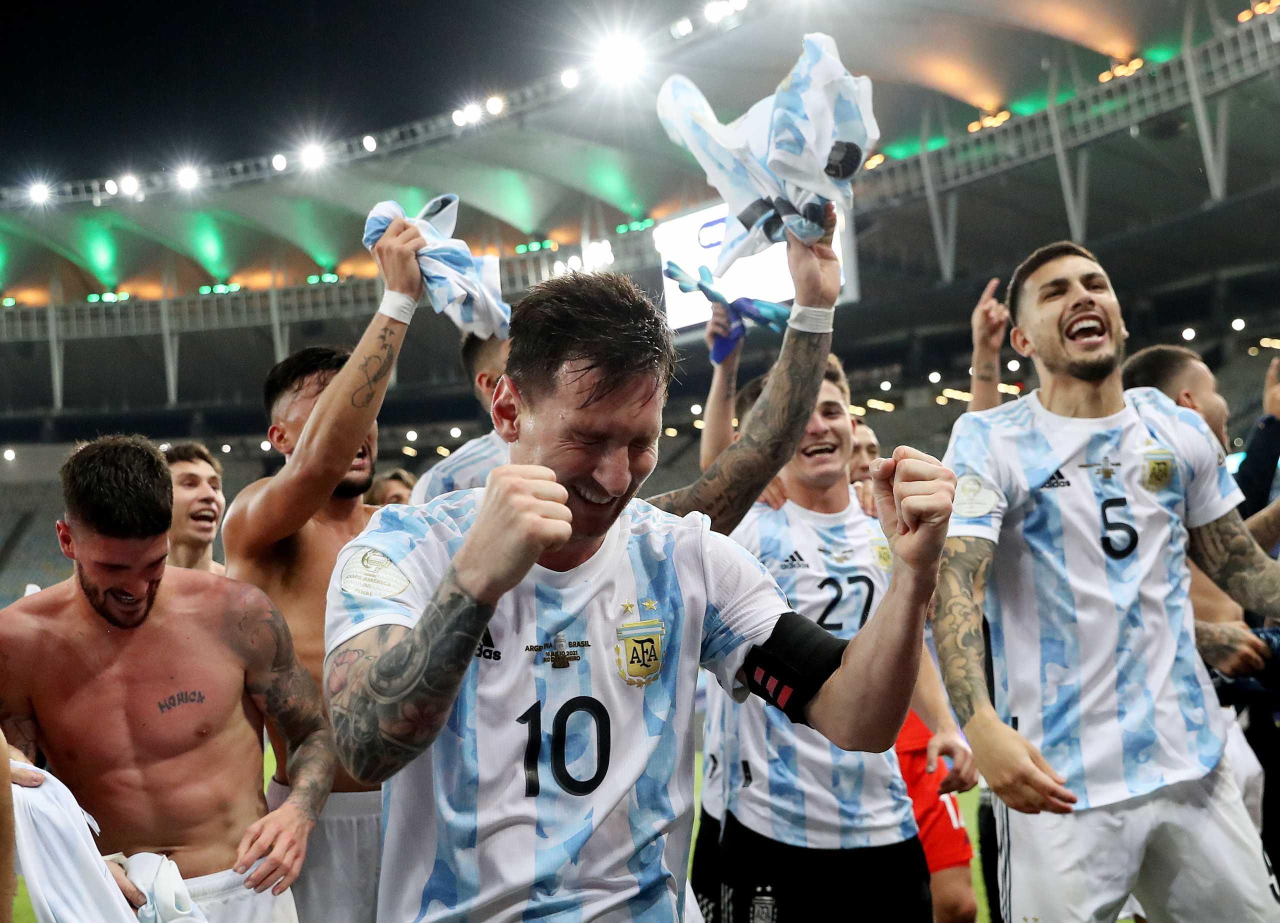 Αργεντινή – Βραζιλία: Το «πάρτι» του Μέσι στα αποδυτήρια του Maracana