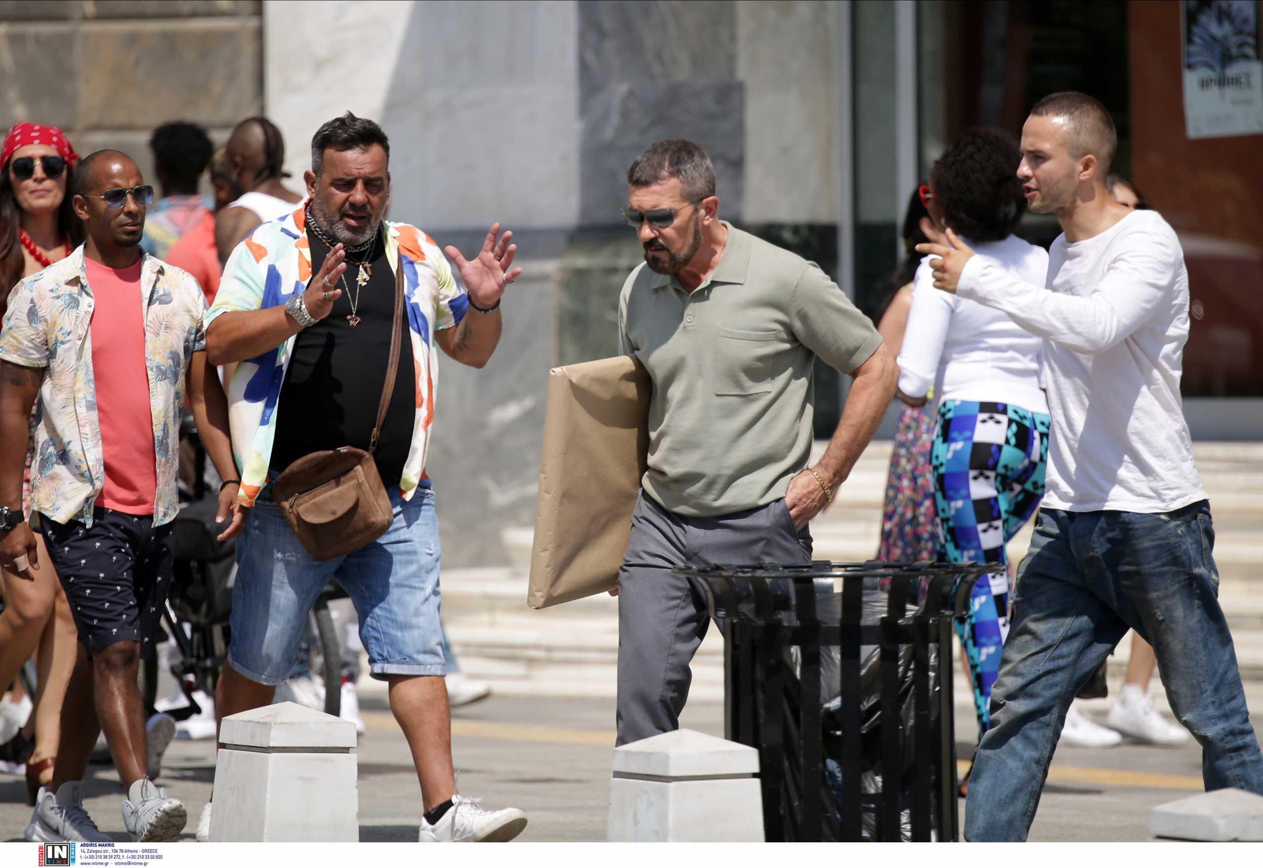 Αντόνιο Μπαντέρας: Δείτε ολόκληρη τη σκηνή του «The Enforcer» που γυρίστηκε στη Θεσσαλονίκη