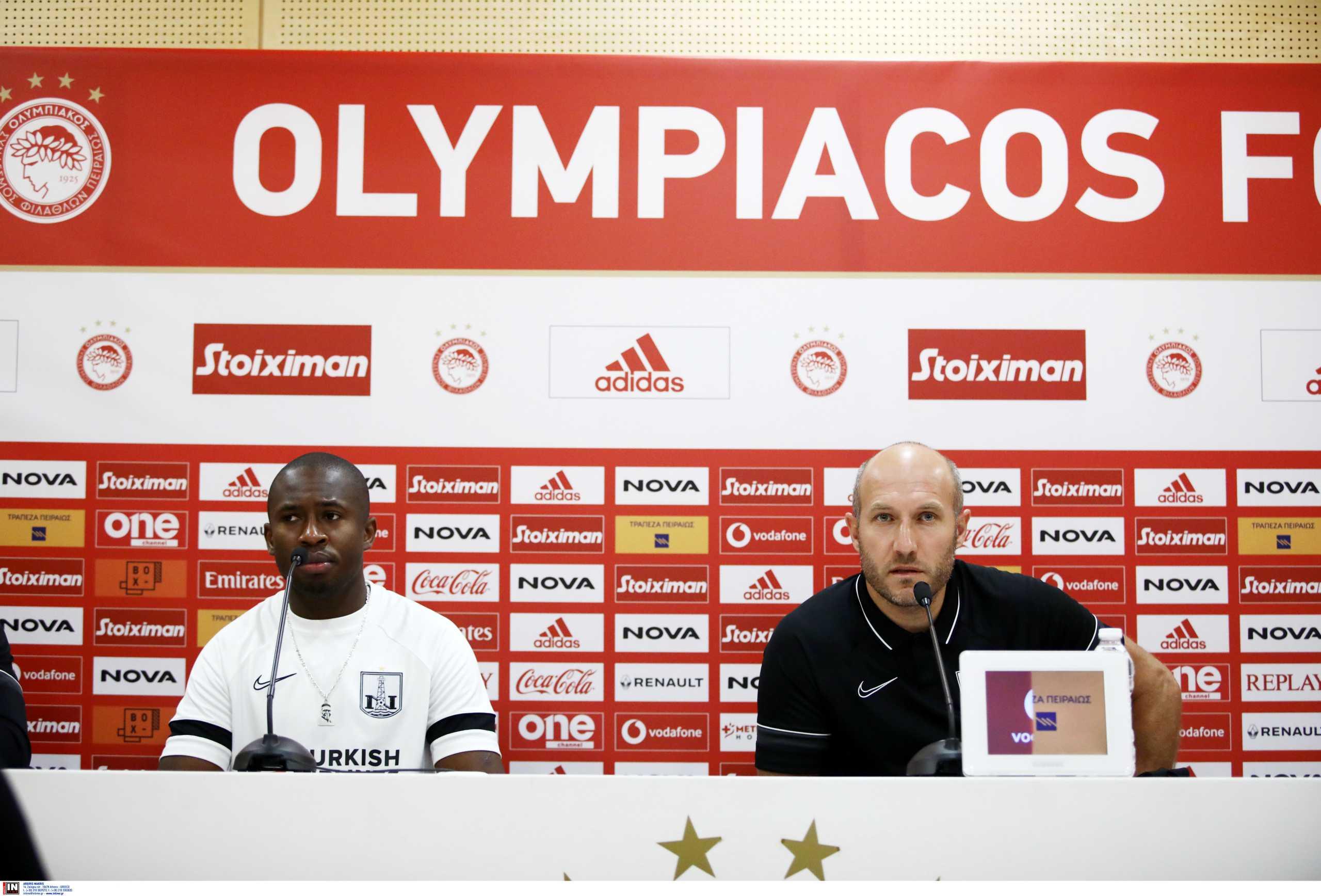 Αμπάσοφ: «Ο Ολυμπιακός είναι μία ομάδα με τεράστια ευρωπαϊκή εμπειρία»