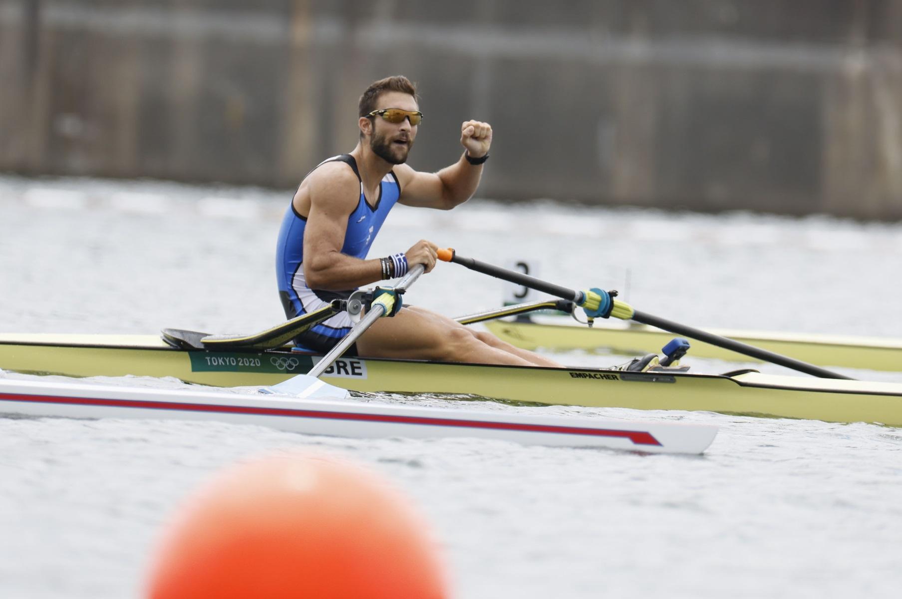 Στέφανος Ντούσκος: Ο «χρυσός» Ολυμπιονίκης του Τόκιο που έκανε την Ελλάδα υπερήφανη