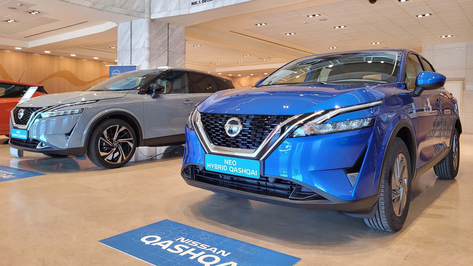 Στις εκθέσεις το νέο Nissan Qashqai