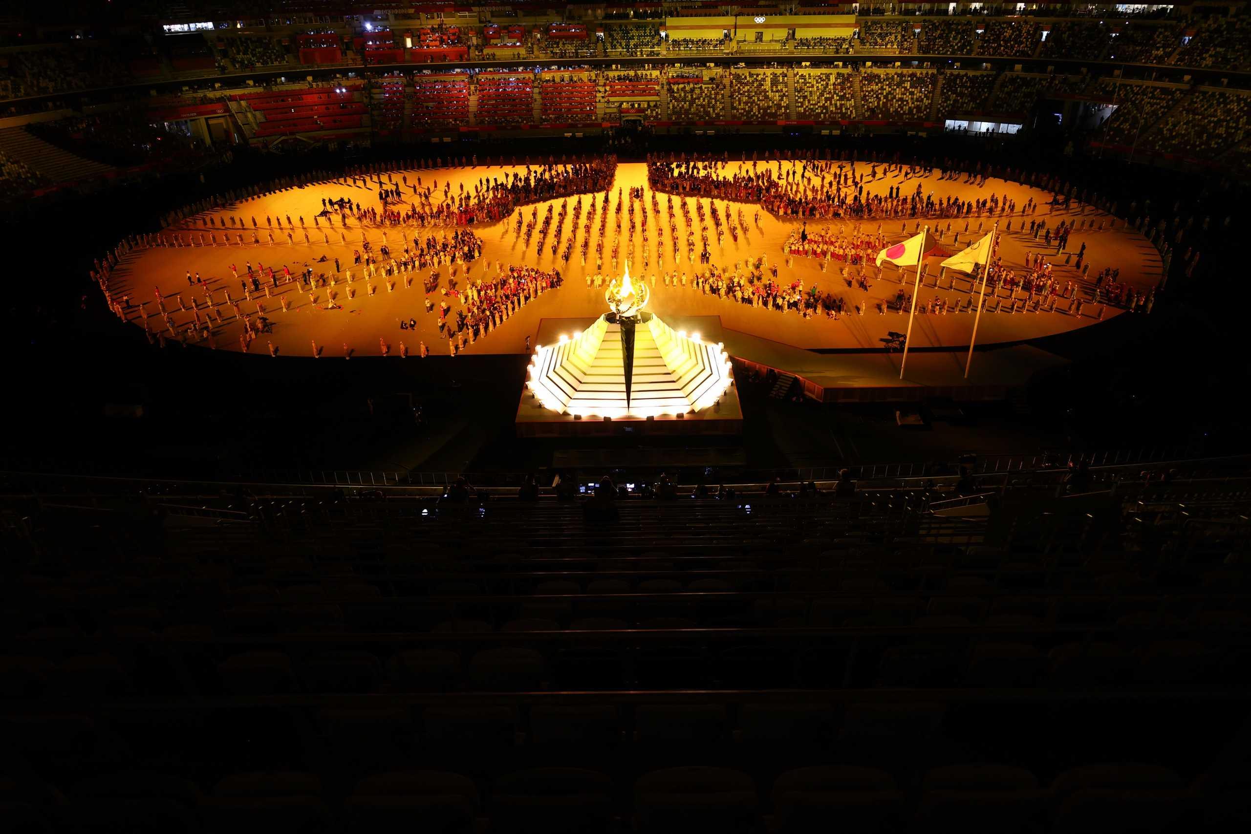 Ολυμπιακοί Αγώνες: Η έπαρση της σημαίας και το άναμμα της φλόγας στο Τόκιο