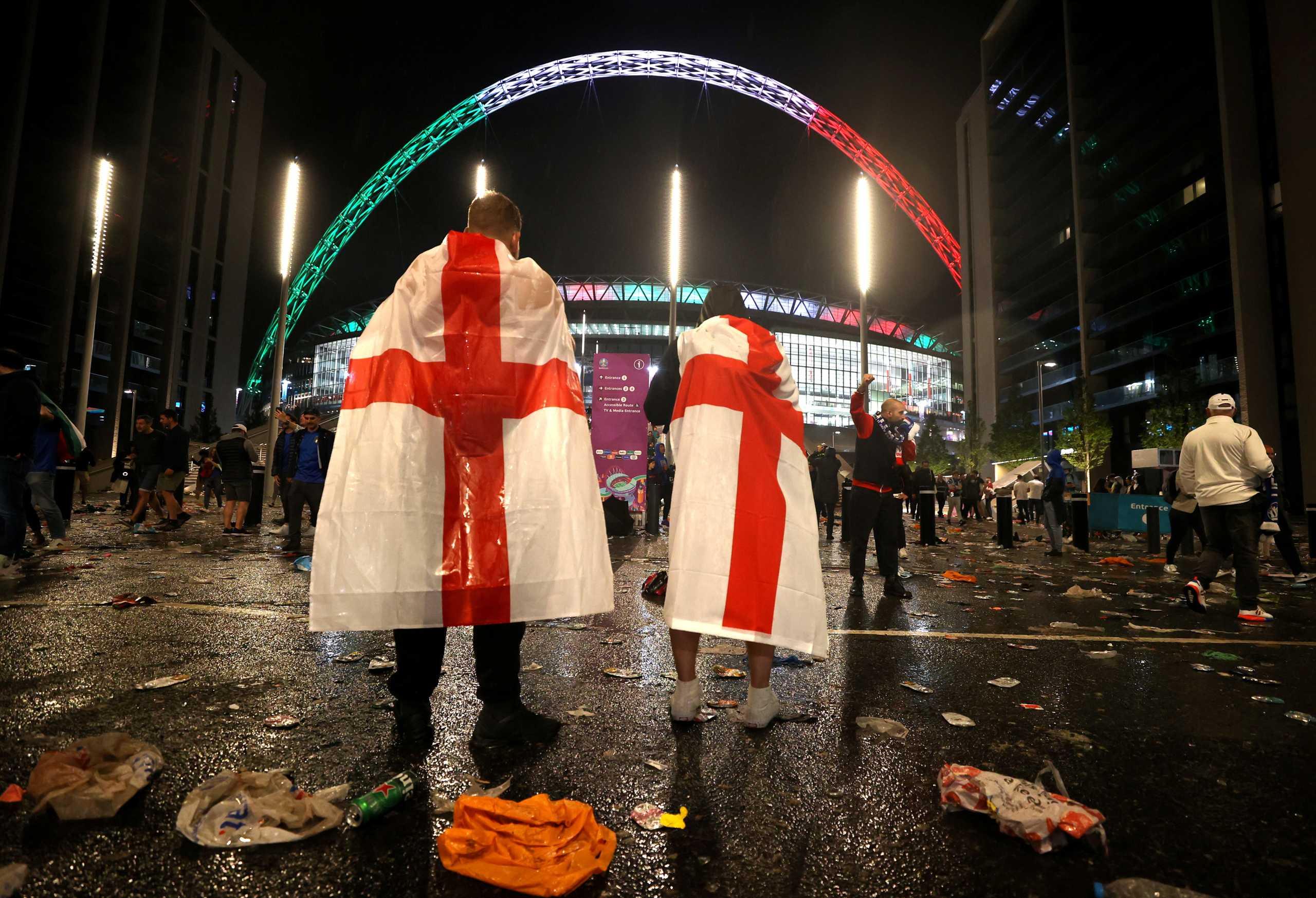 Euro 2020: Επίθεση Άγγλων οπαδών σε Ιταλούς μετά τον τελικό – Επεισόδια και συλλήψεις