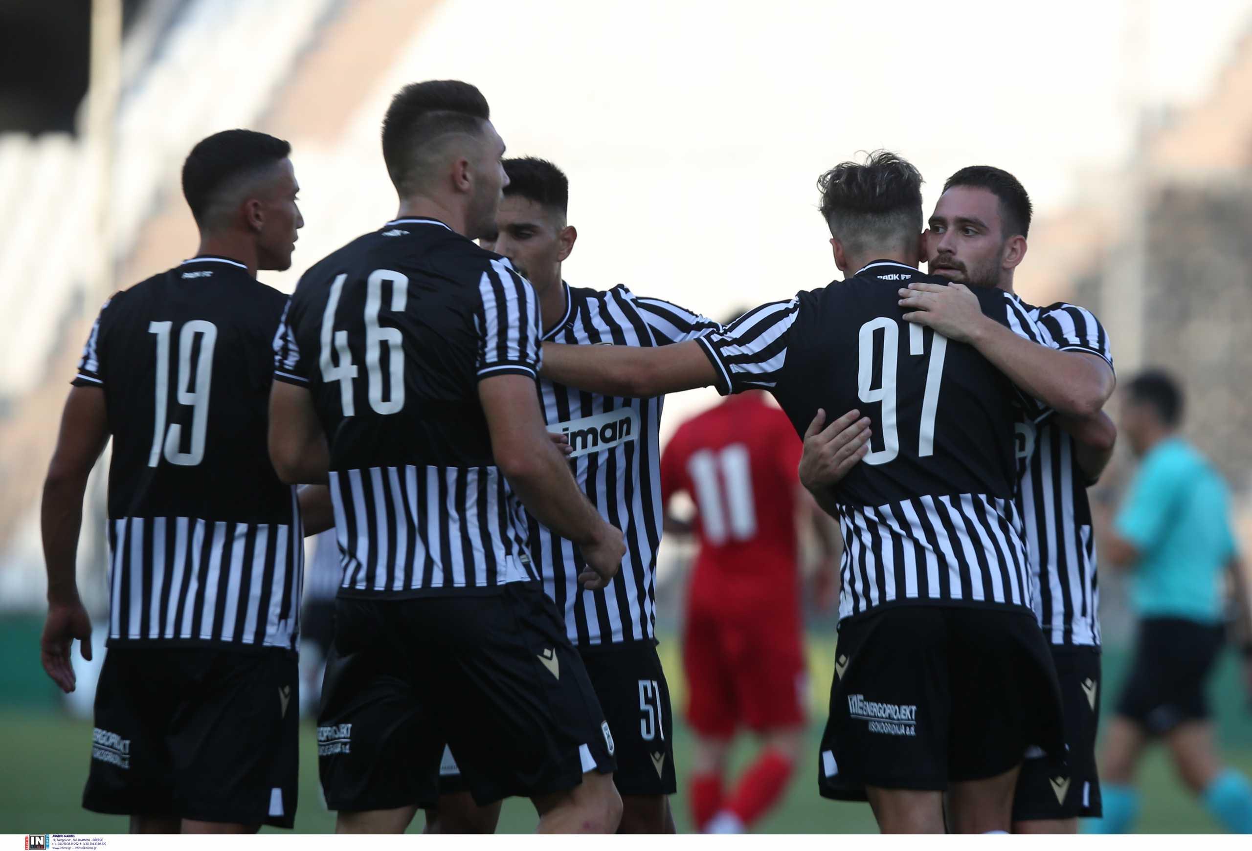 ΠΑΟΚ – Βόλος 3-1: Ανατροπή και εύκολη νίκη στο πρώτο φιλικό