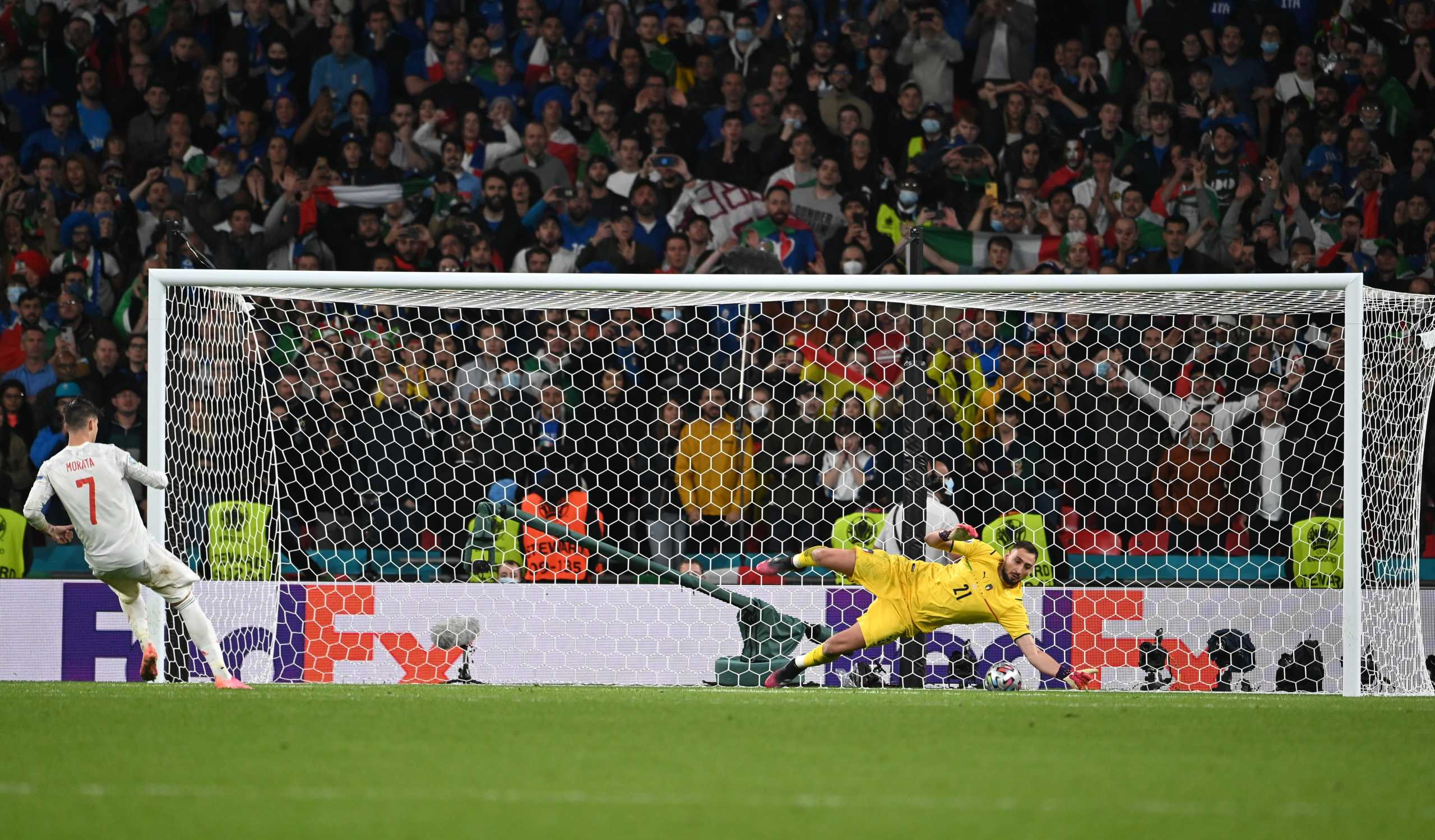 Euro 2020, Ιταλία – Ισπανία : Ντοναρούμα, Ζορζίνιο και τελικός