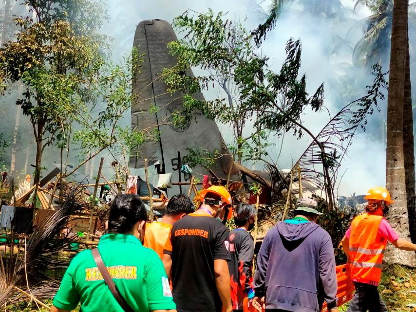Φιλιππίνες: Βρήκαν το μαύρο κουτί του μοιραίου C-130