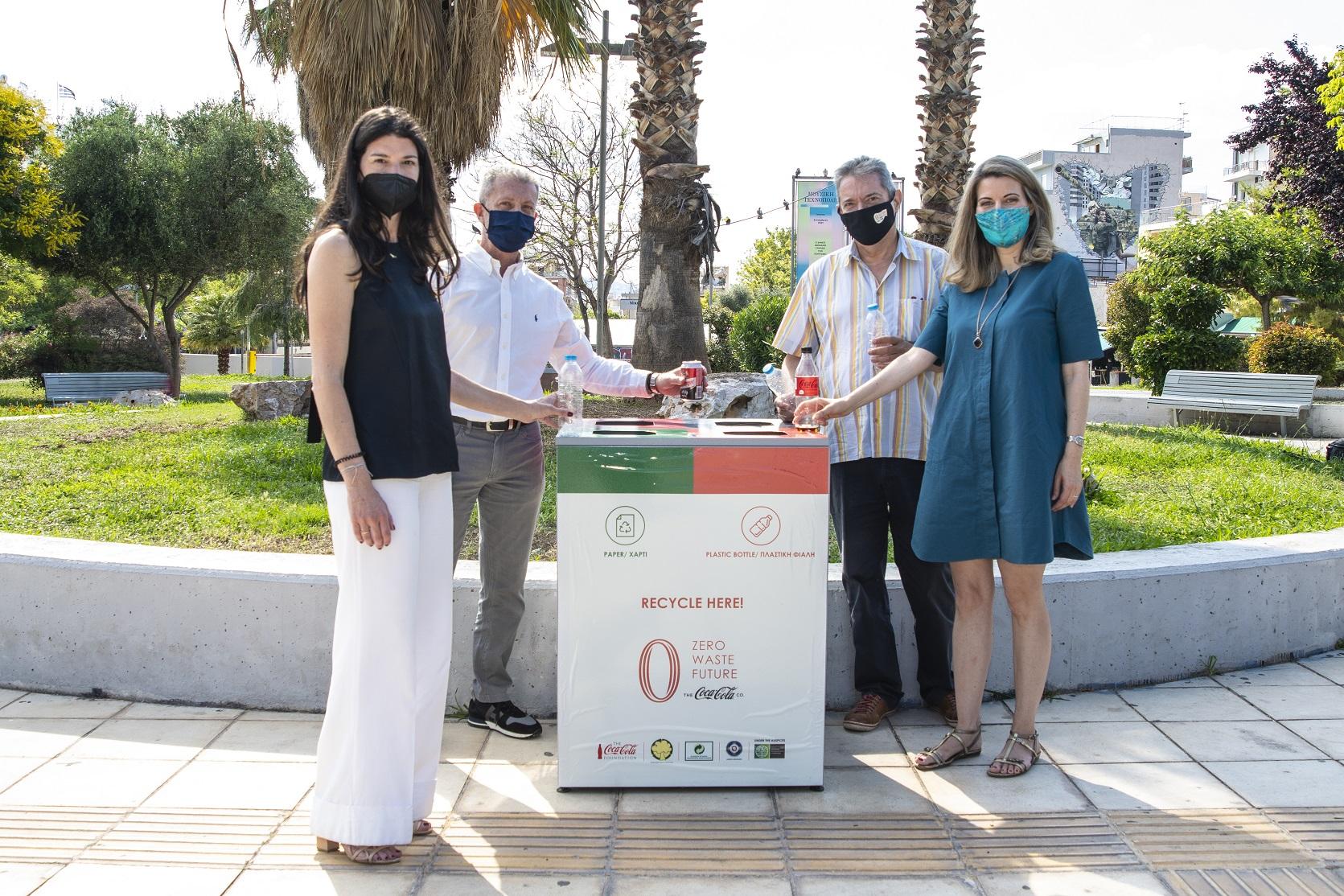 To Γκάζι μετατρέπεται σε πλατεία – πρότυπο στην ανακύκλωση