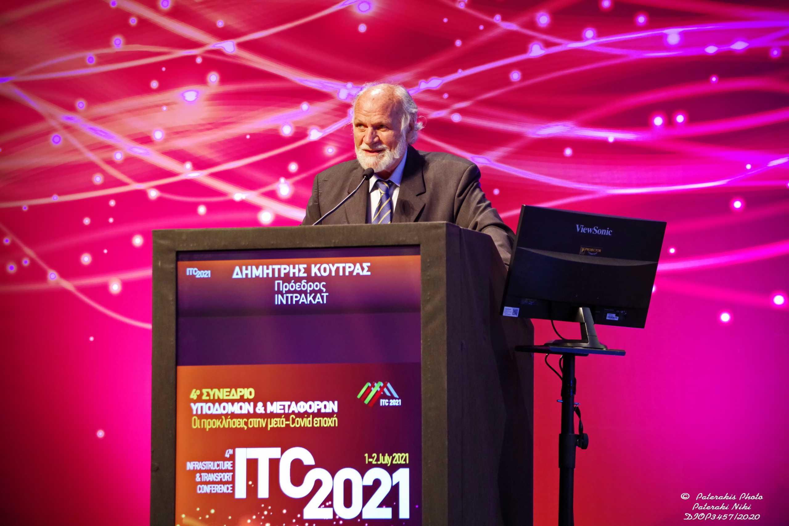 Intrakat: Η βράβευση και το μήνυμα αισιοδοξίας από το 4ο Συνέδριο Υποδομών και Μεταφορών