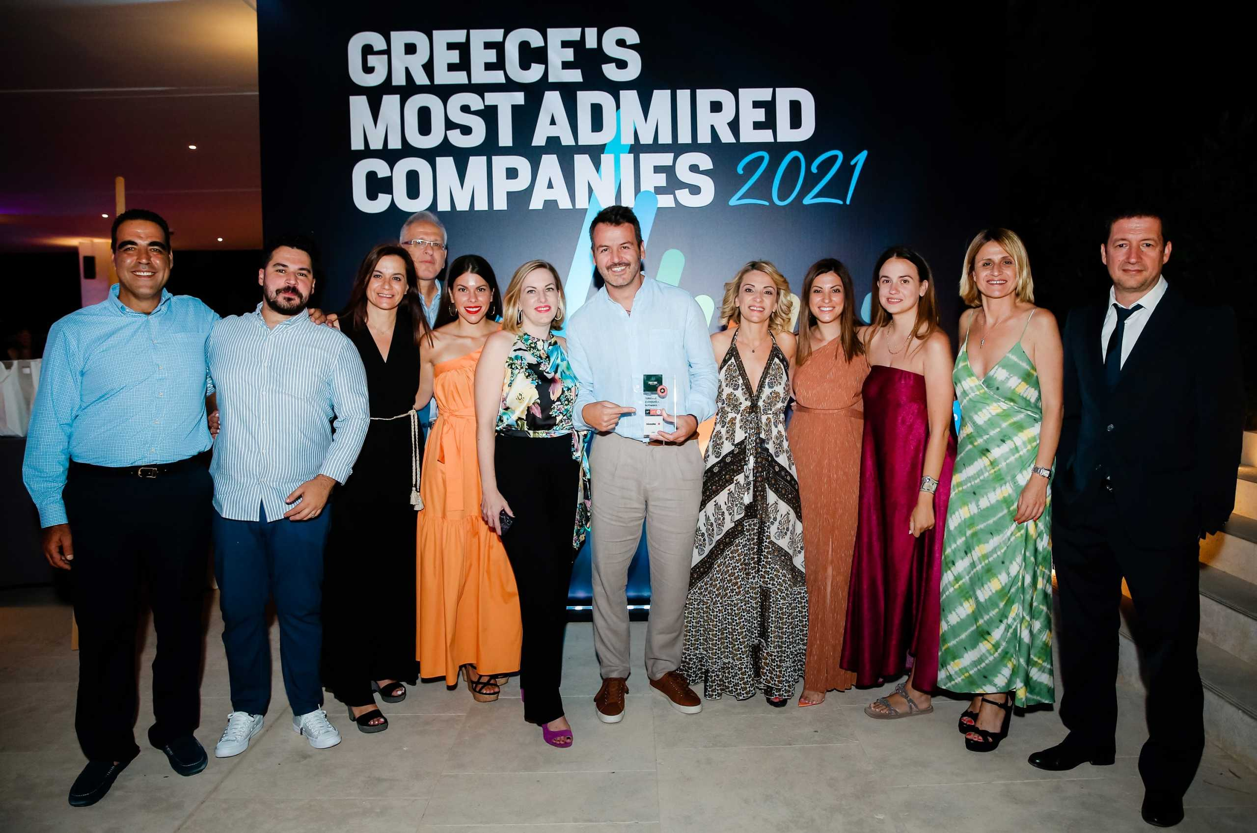 Πλαίσιο Computers: 9η «Πιο Αξιοθαύμαστη Εταιρεία» στην Ελλάδα – Ο μοναδικός retailer τεχνολογίας που ξεχώρισε