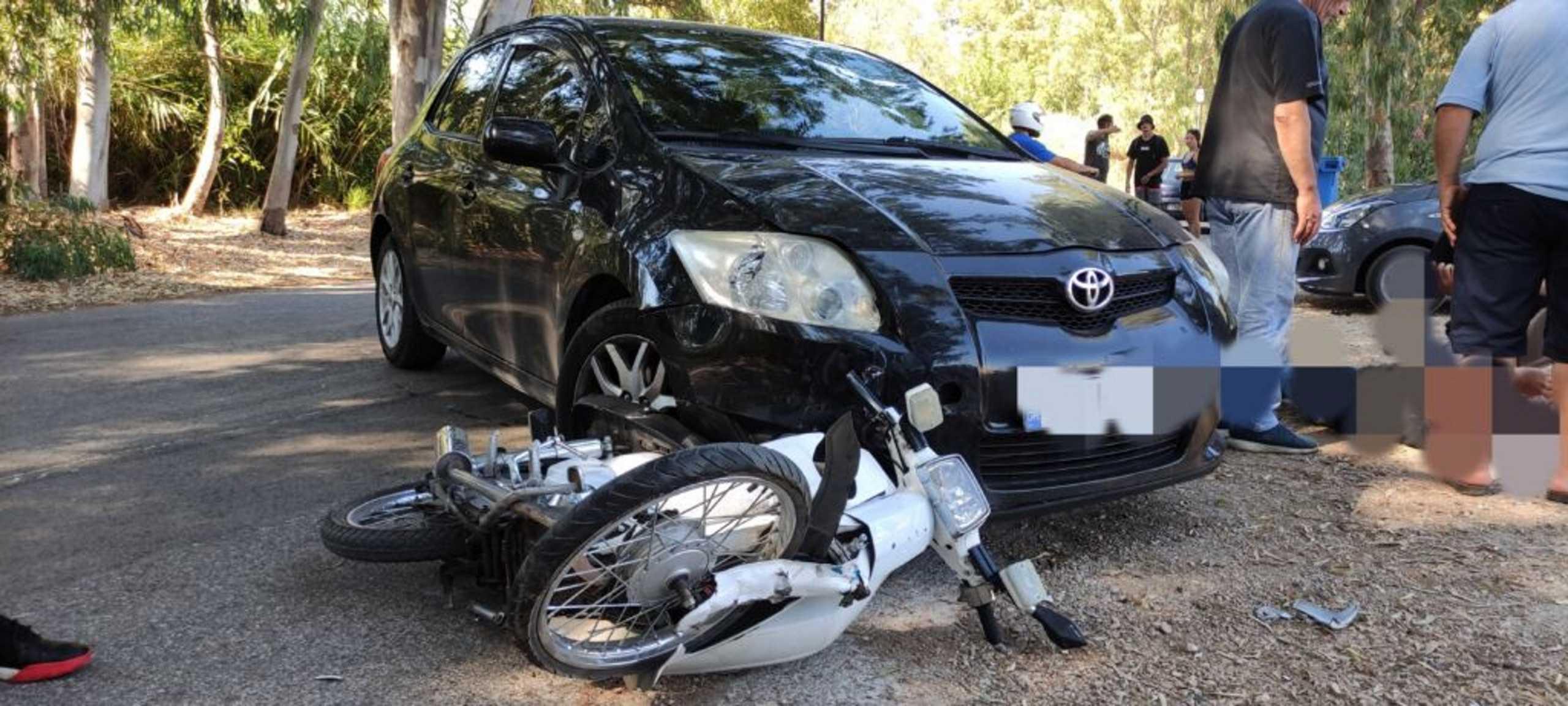Πρέβεζα: Τροχαίο με τραυματισμό μοτοσικλετιστή