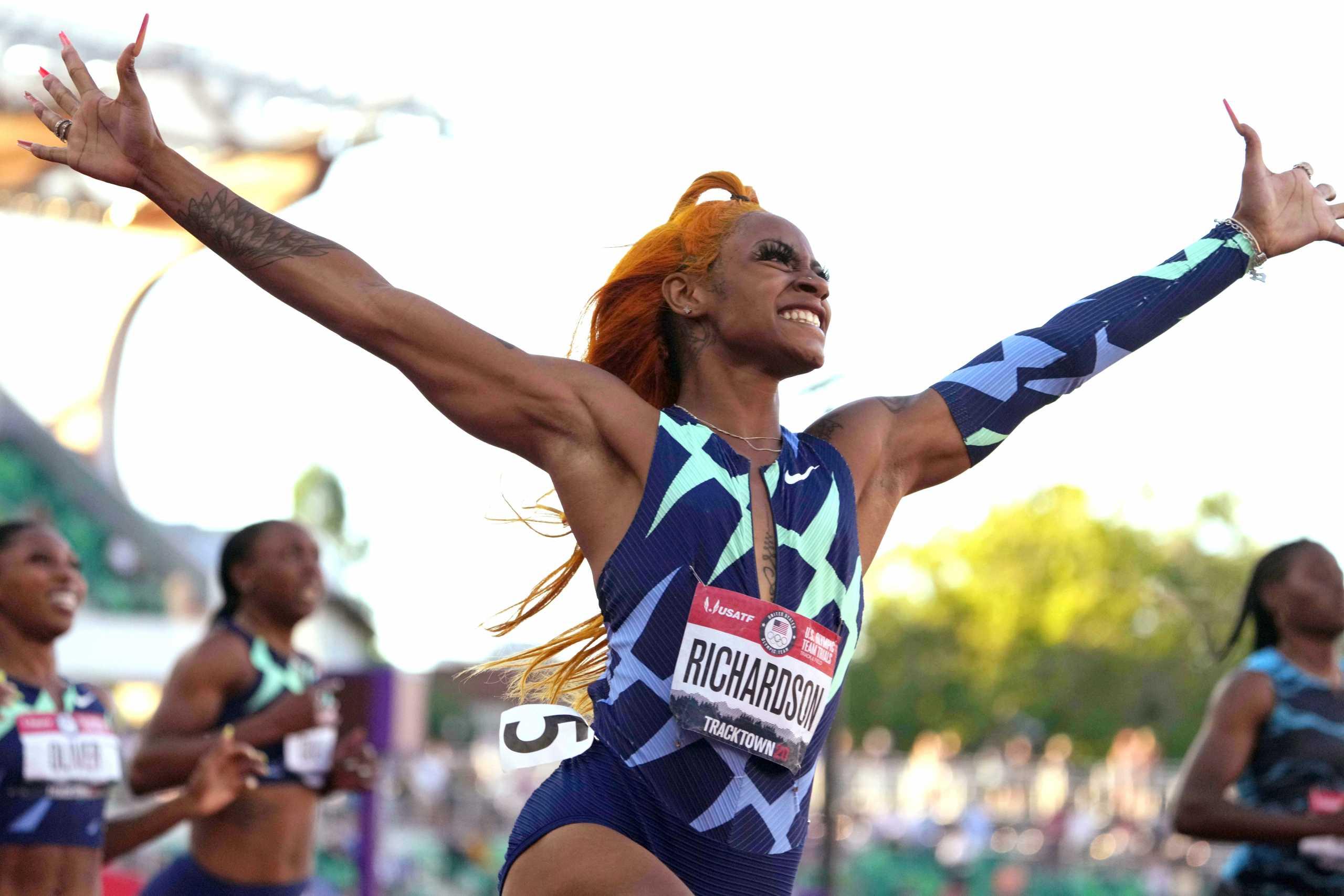 Ολυμπιακοί Αγώνες: «Σοκ» για τις ΗΠΑ, η Ρίτσαρντσον βρέθηκε θετική στην κάνναβη